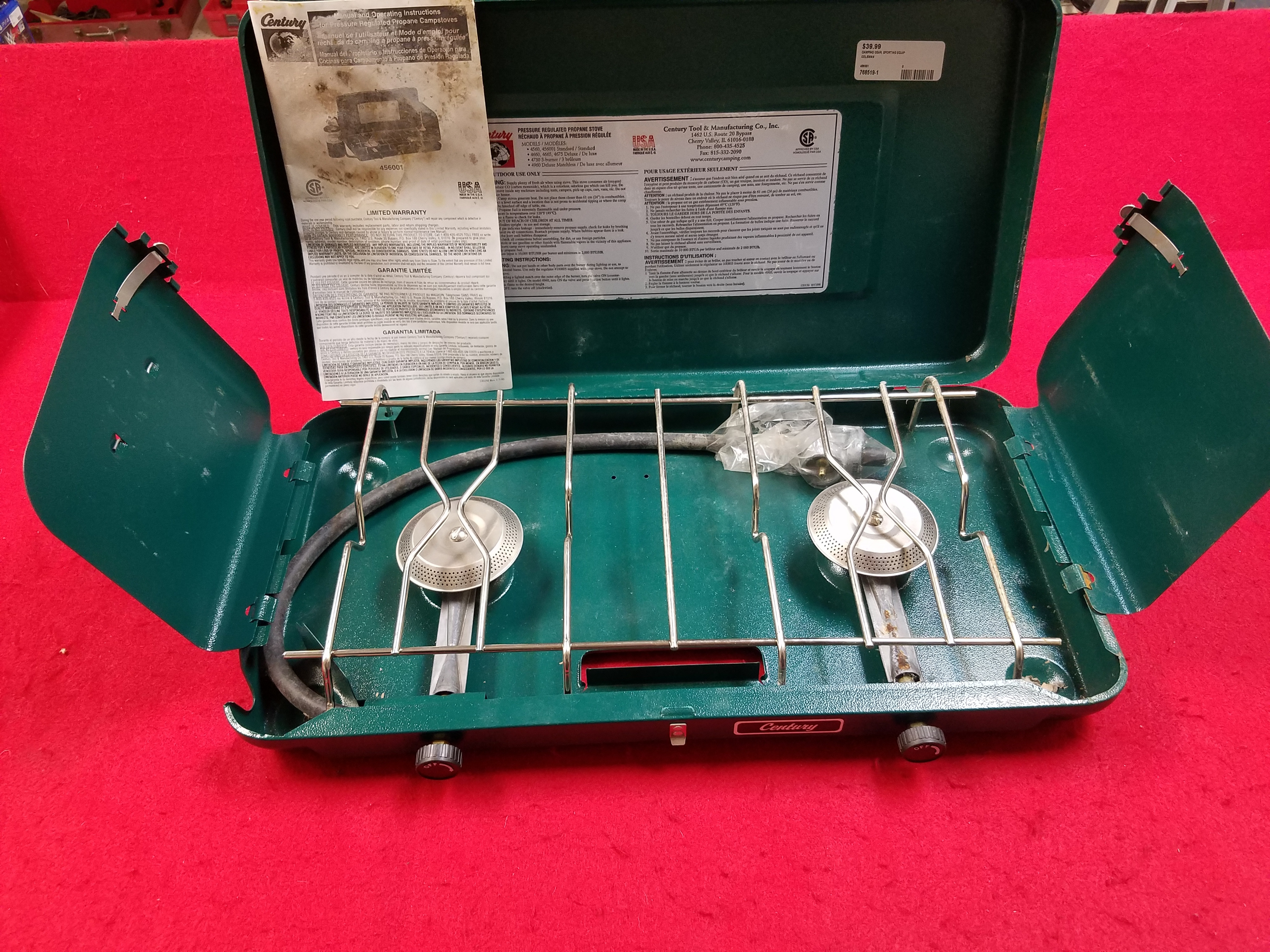 COLEMAN - 456001 - CAMPING STOVE