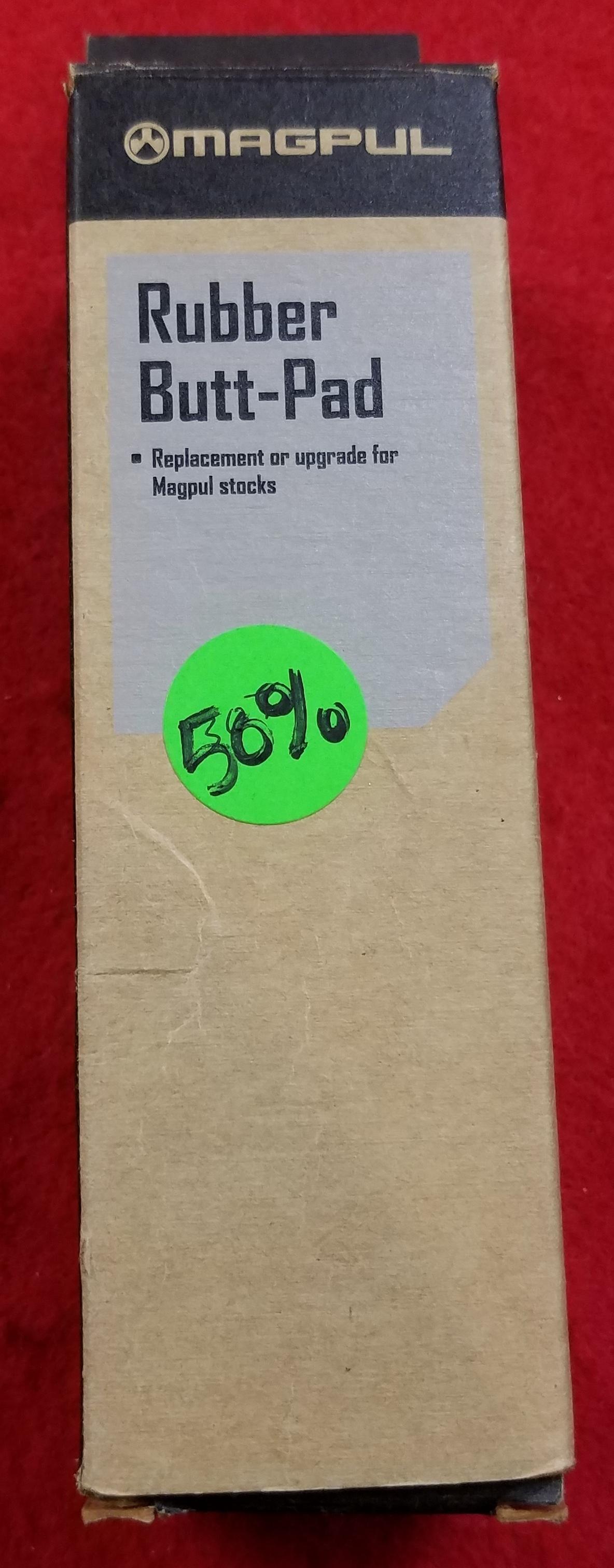 MAGPUL - MAG315-BLK - RECOIL MPI BUT PAD RUBBER .30