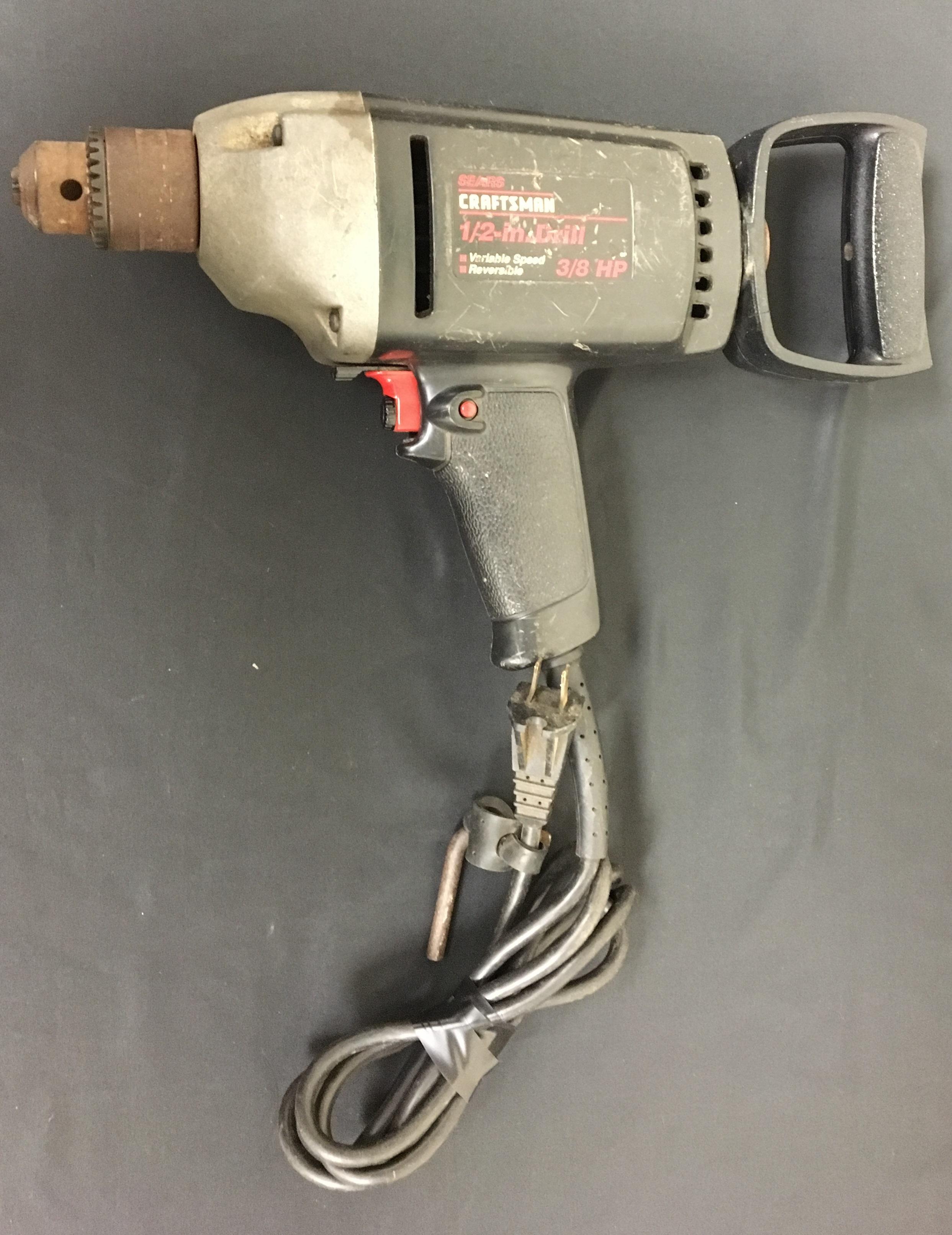 CRAFTSMAN - 315.10281 - HAMMER DRILL 3/8 HP W/HANDLE