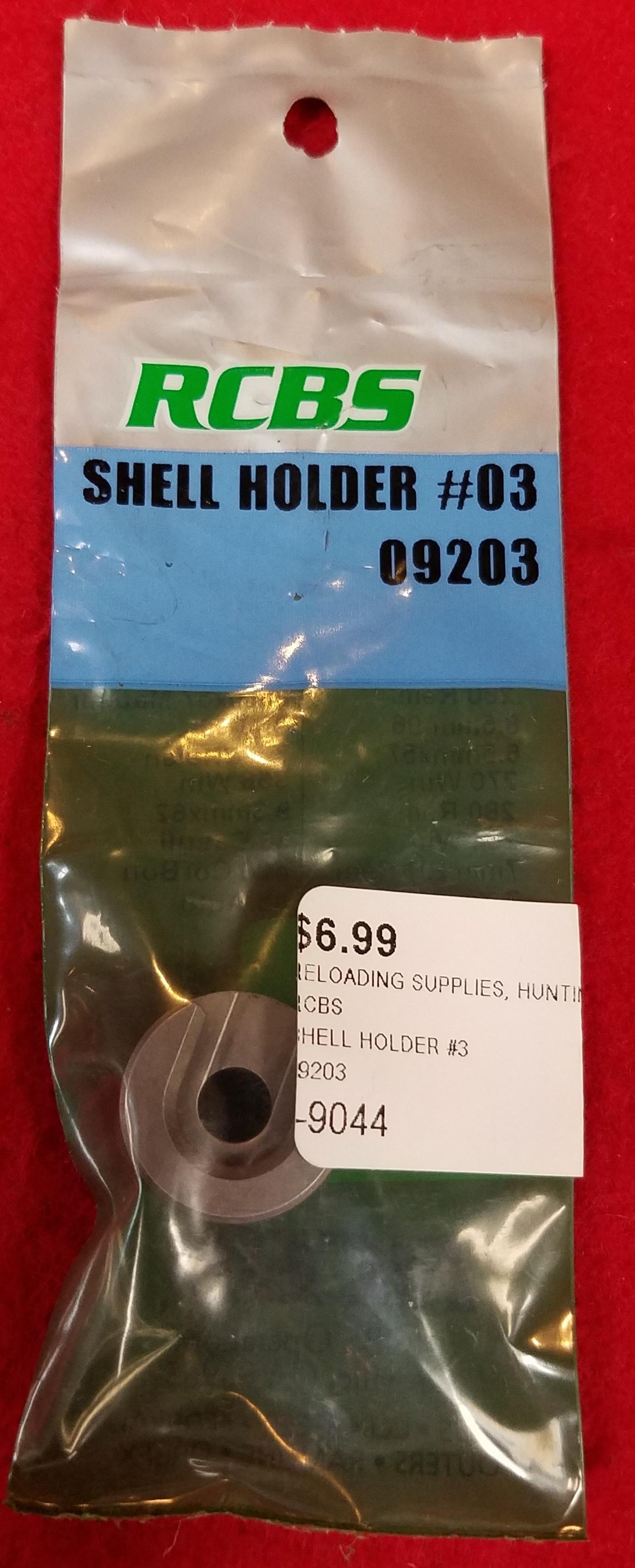 RCBS 09203 - SHELL HOLDER #3