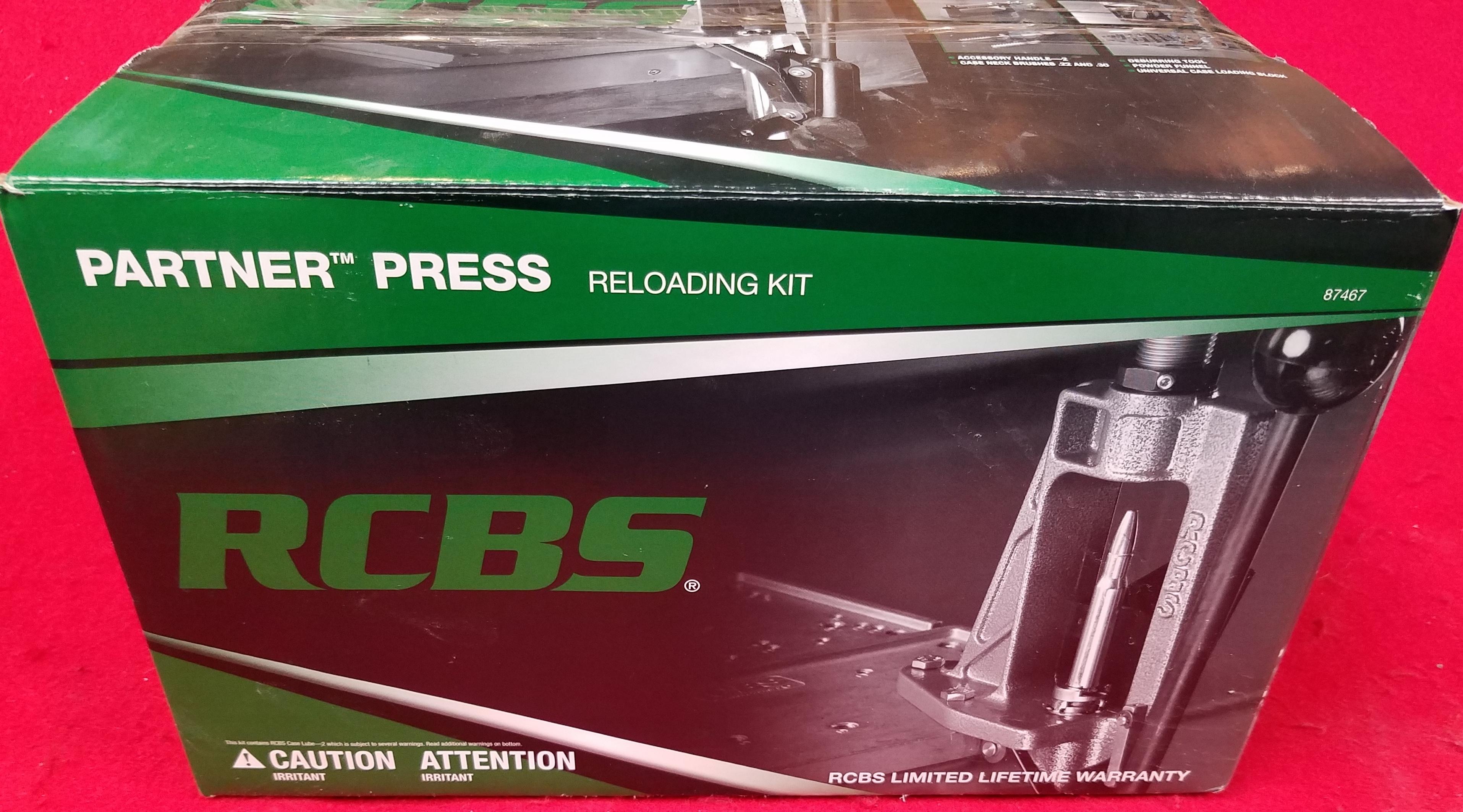 RCBS 87466 - PARTNER PRESS RELOADING KIT