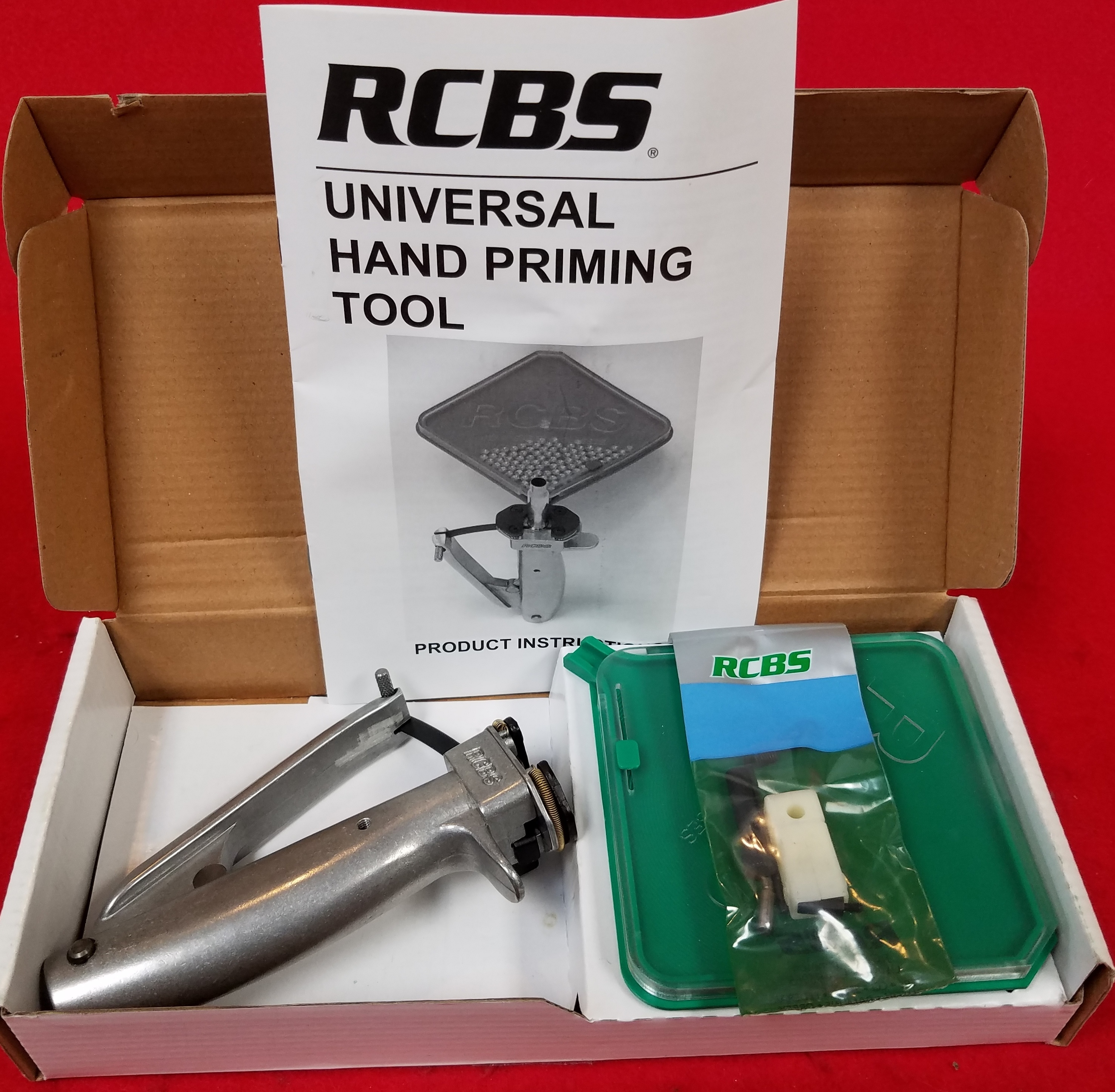 RCBS 90201 - UNIVERSAL HAND PRIMING TOOL