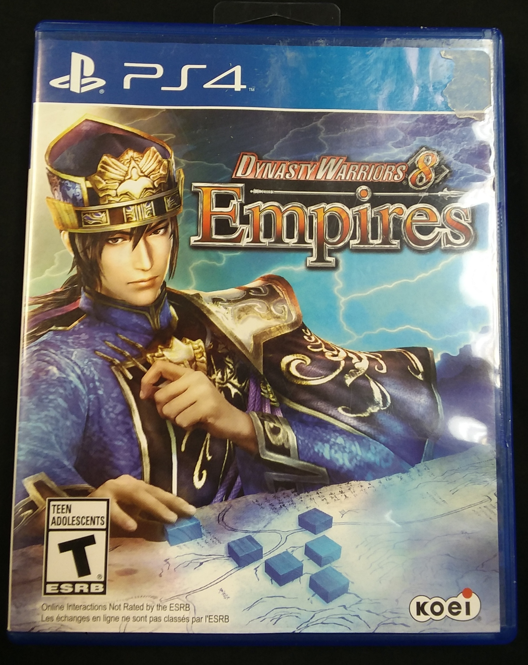 GAME: PS4 GAME - DYNASTY WARRIORS 8 EMPIRES