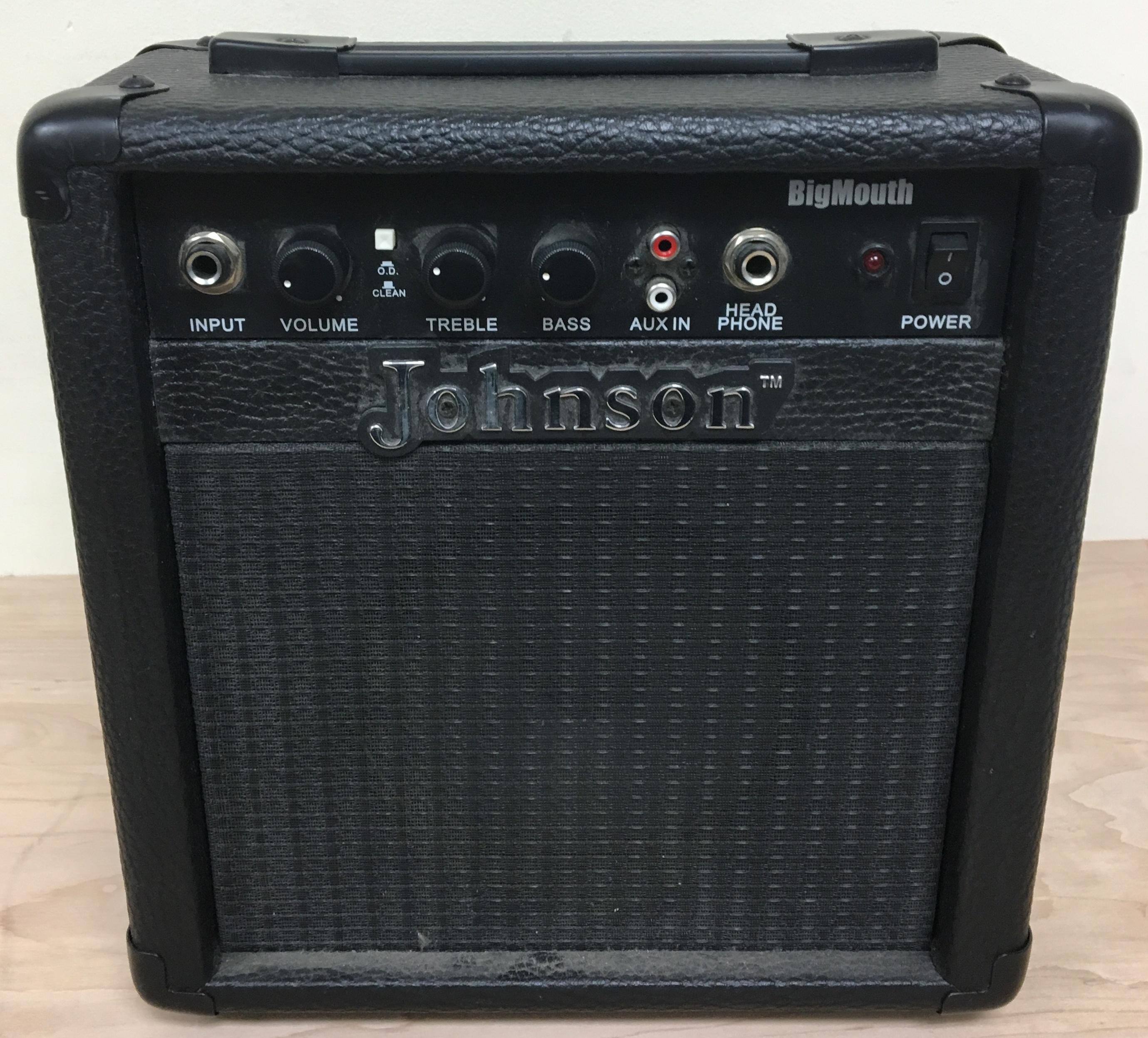JOHNSON - JA-P10 -  BIG MOUTH - AMP