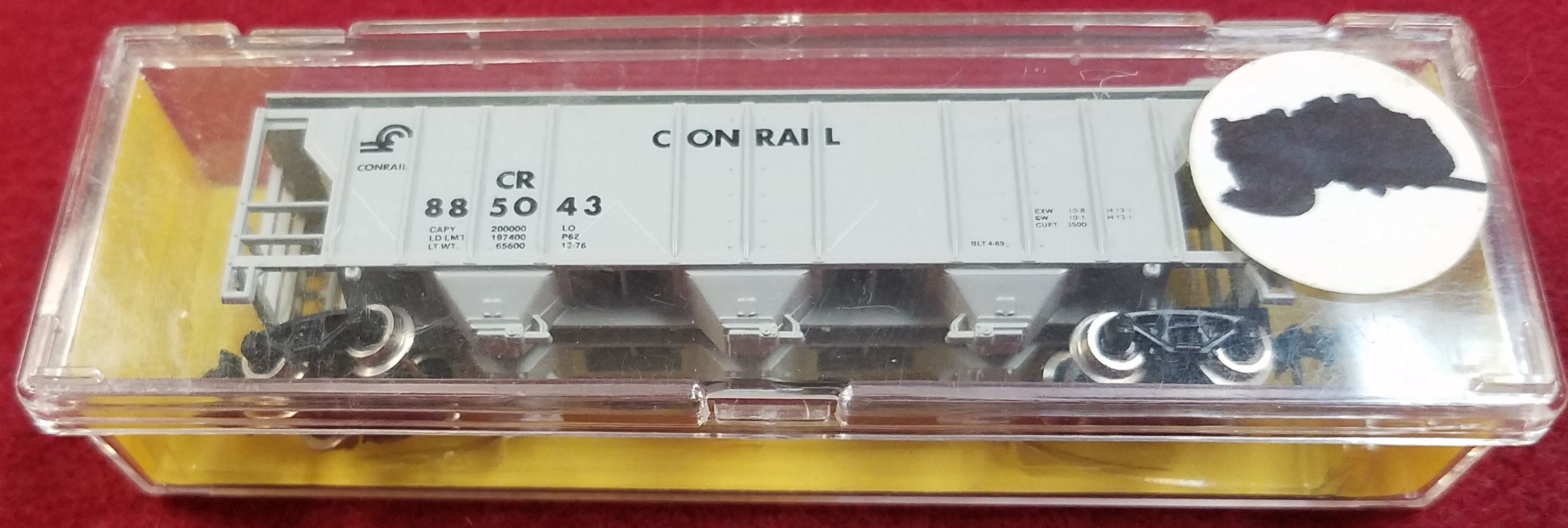 ATLAS - N SCALE - CR 885043 - 3725 COVERED HOPPER CONRAIL