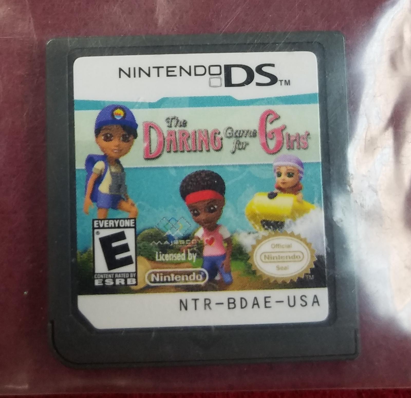 NINTENDO DSi GAMES - THE DARING GAME FOR GIRLS