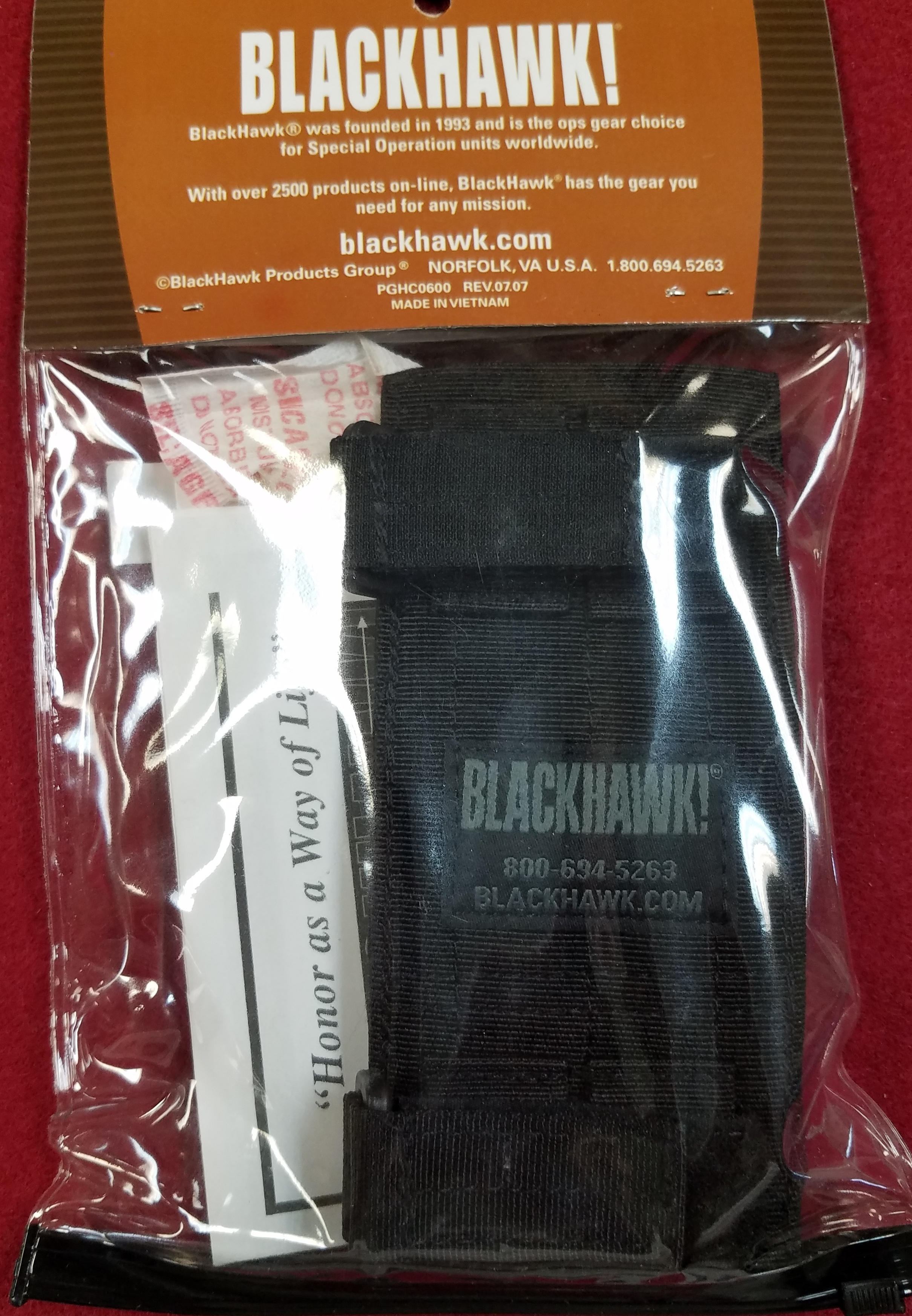BLACKHAWK - 52BS17BK - BUTTSTOCK MAG POUCH M4 BLK