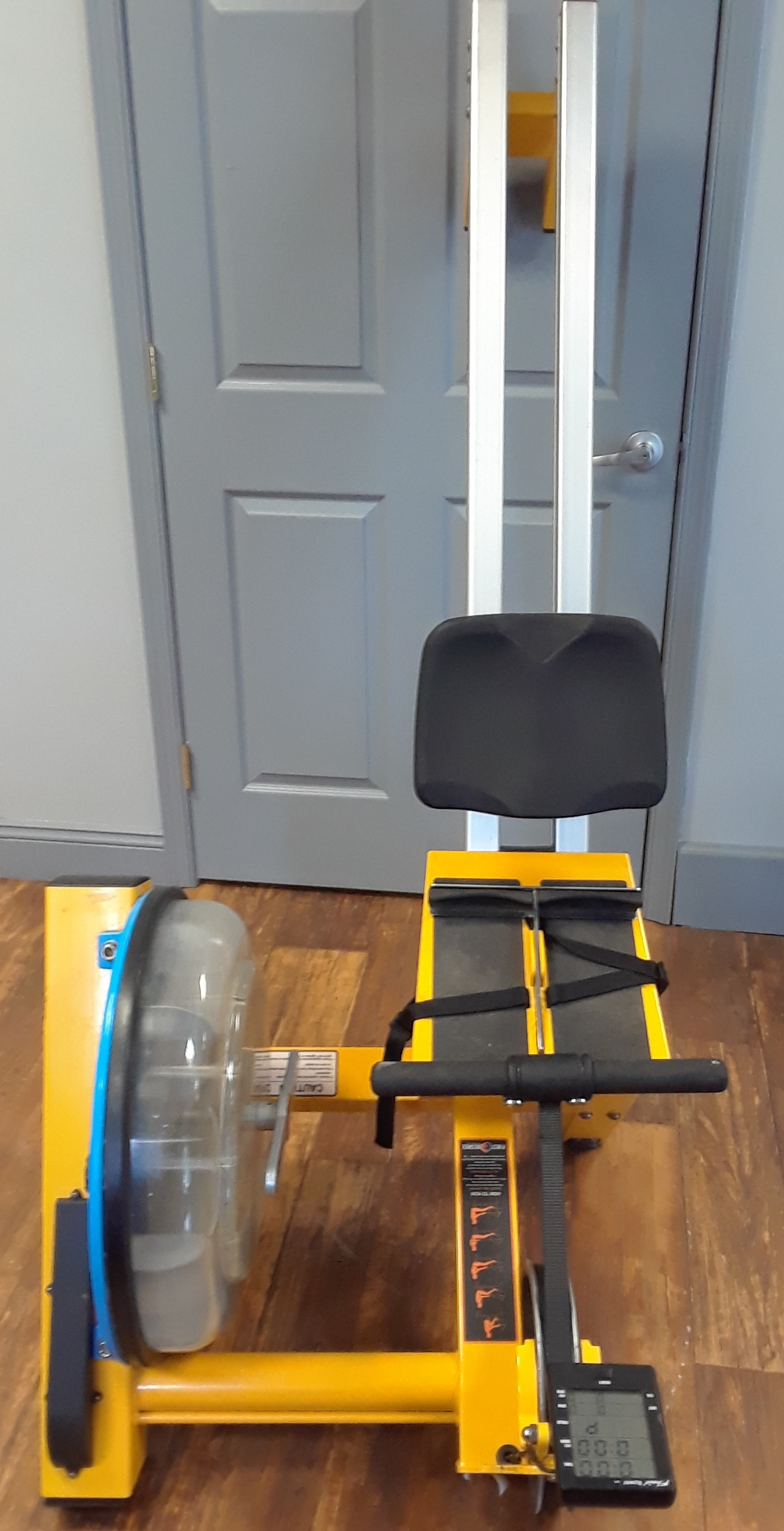 FIRST DEGREE FDR-02 FLUID ROWING MACHINE