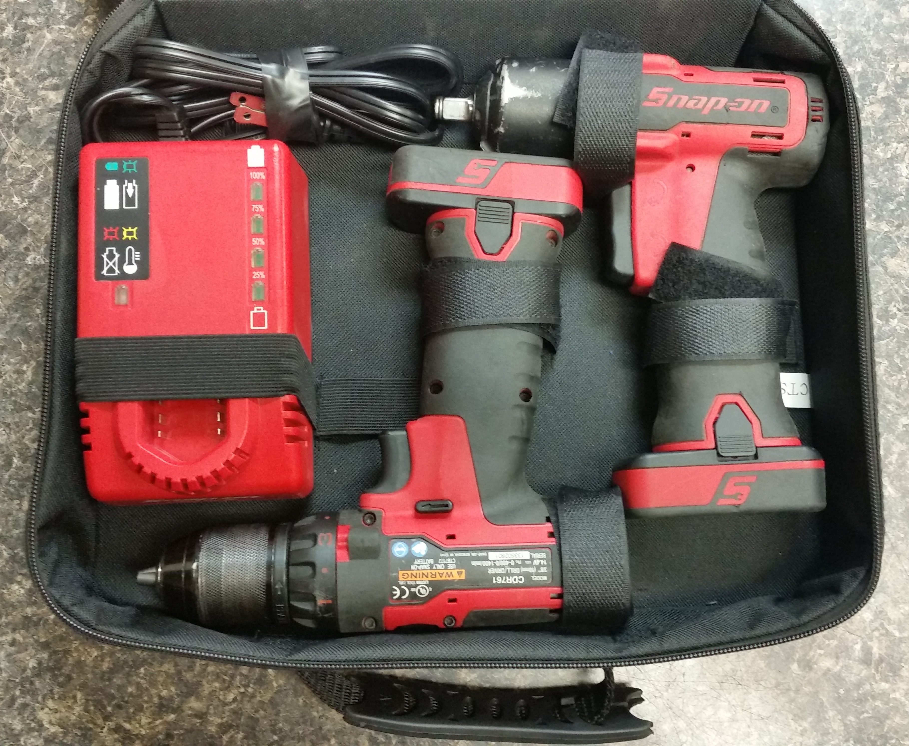 SNAP-ON - CT761 CDR761 - 5 PC DRILL COMBO TOOLS