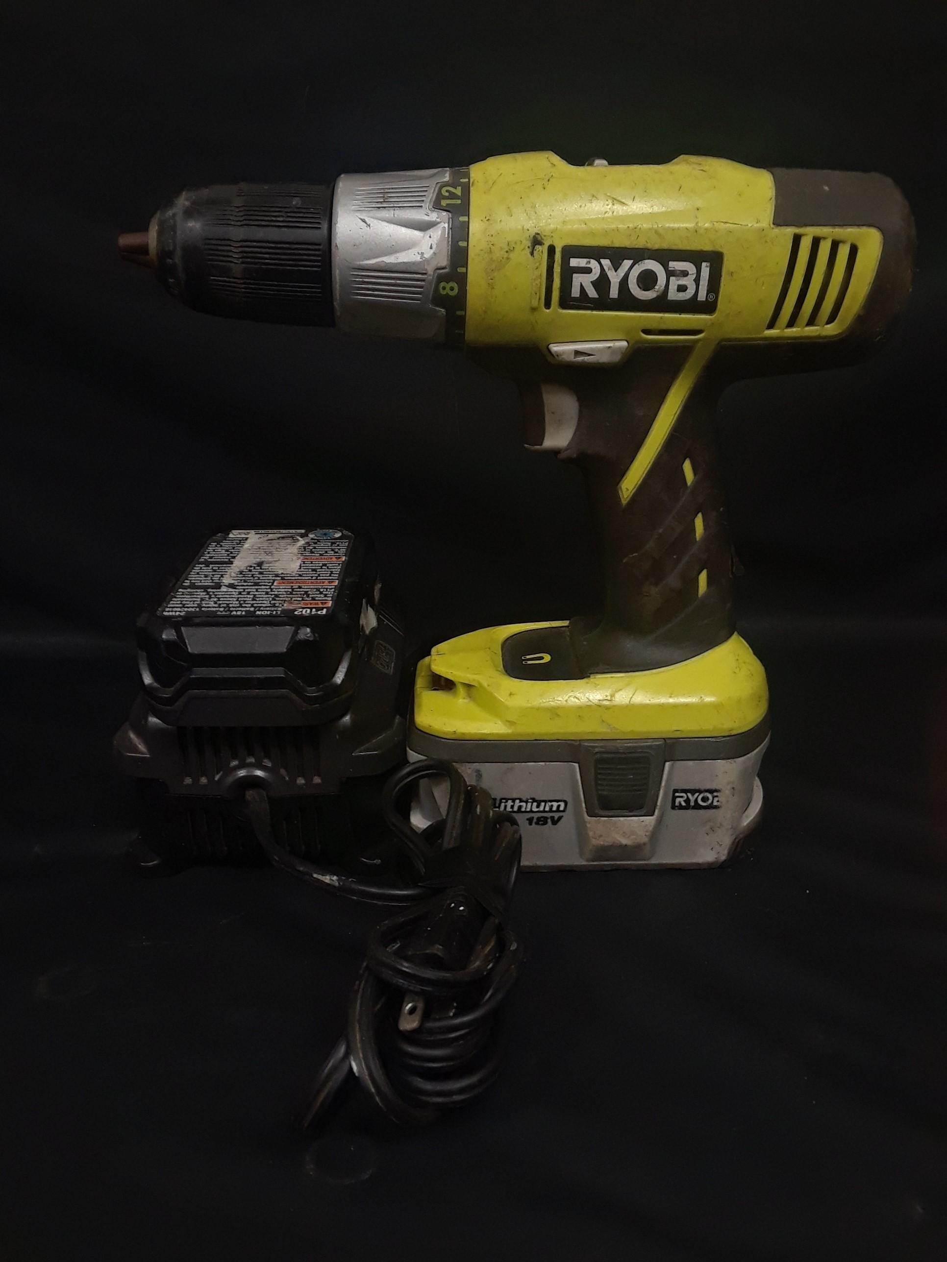 RYOBI DRILL-MODEL:  P271