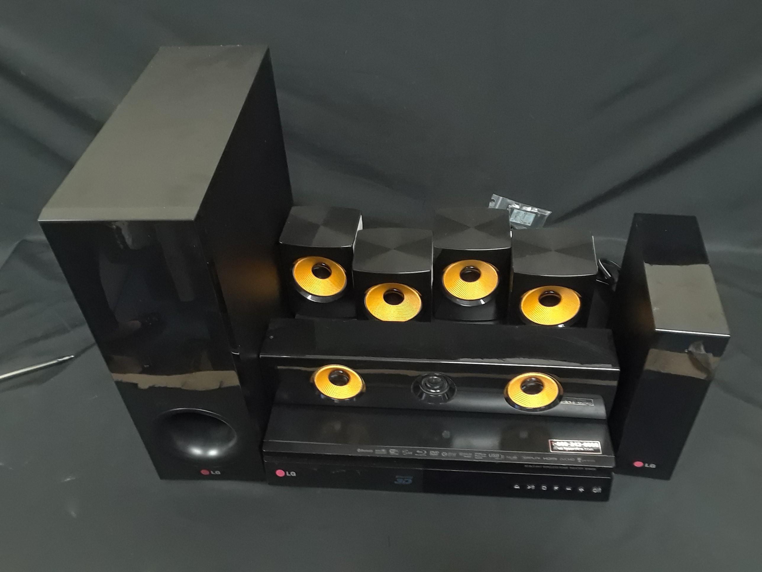 LG SURROUND SOUND - MODEL: BH6830SW