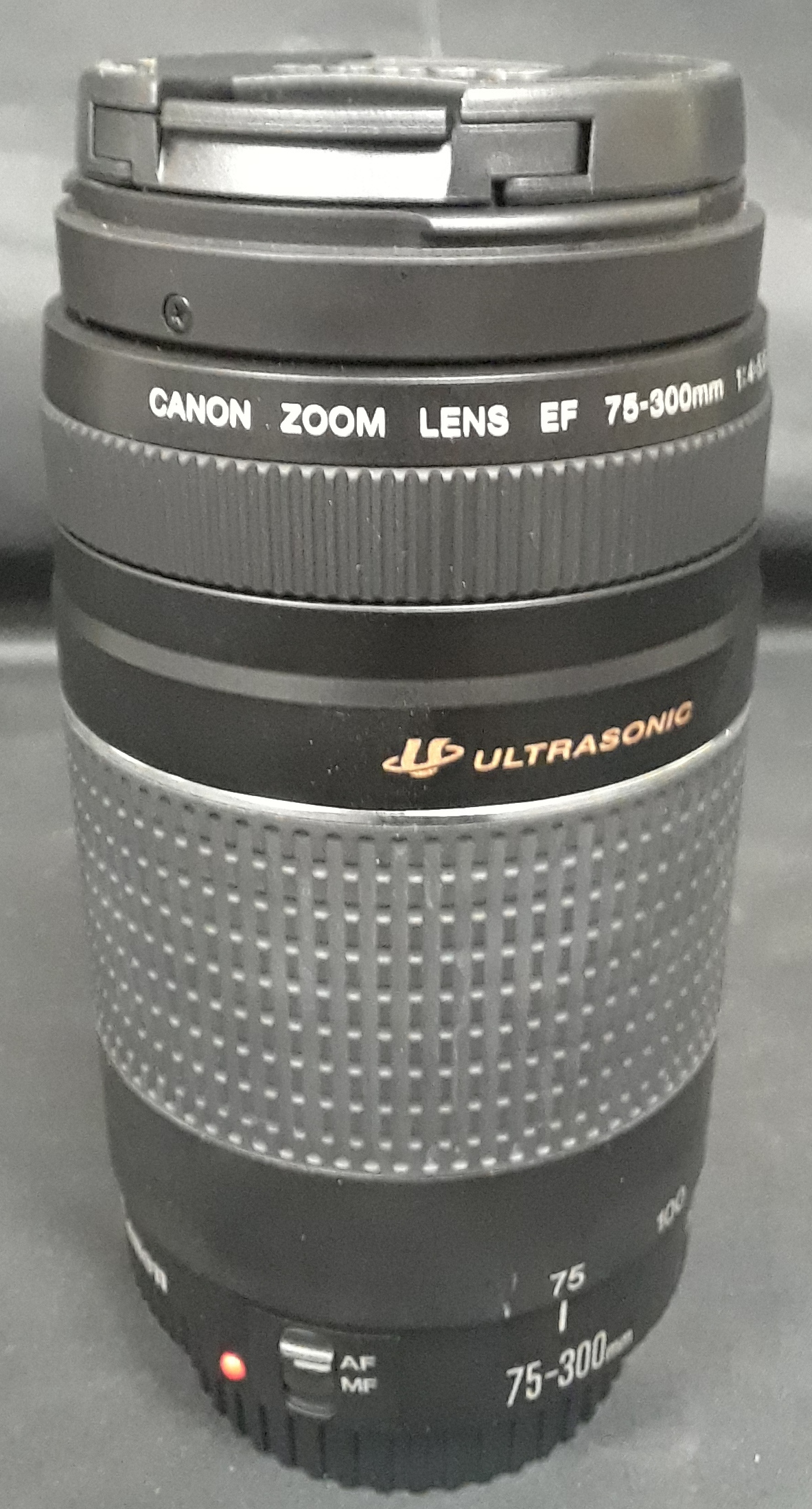 CANON 75-300MM ZOOM CAMERA LENS - MODEL: LENS EF