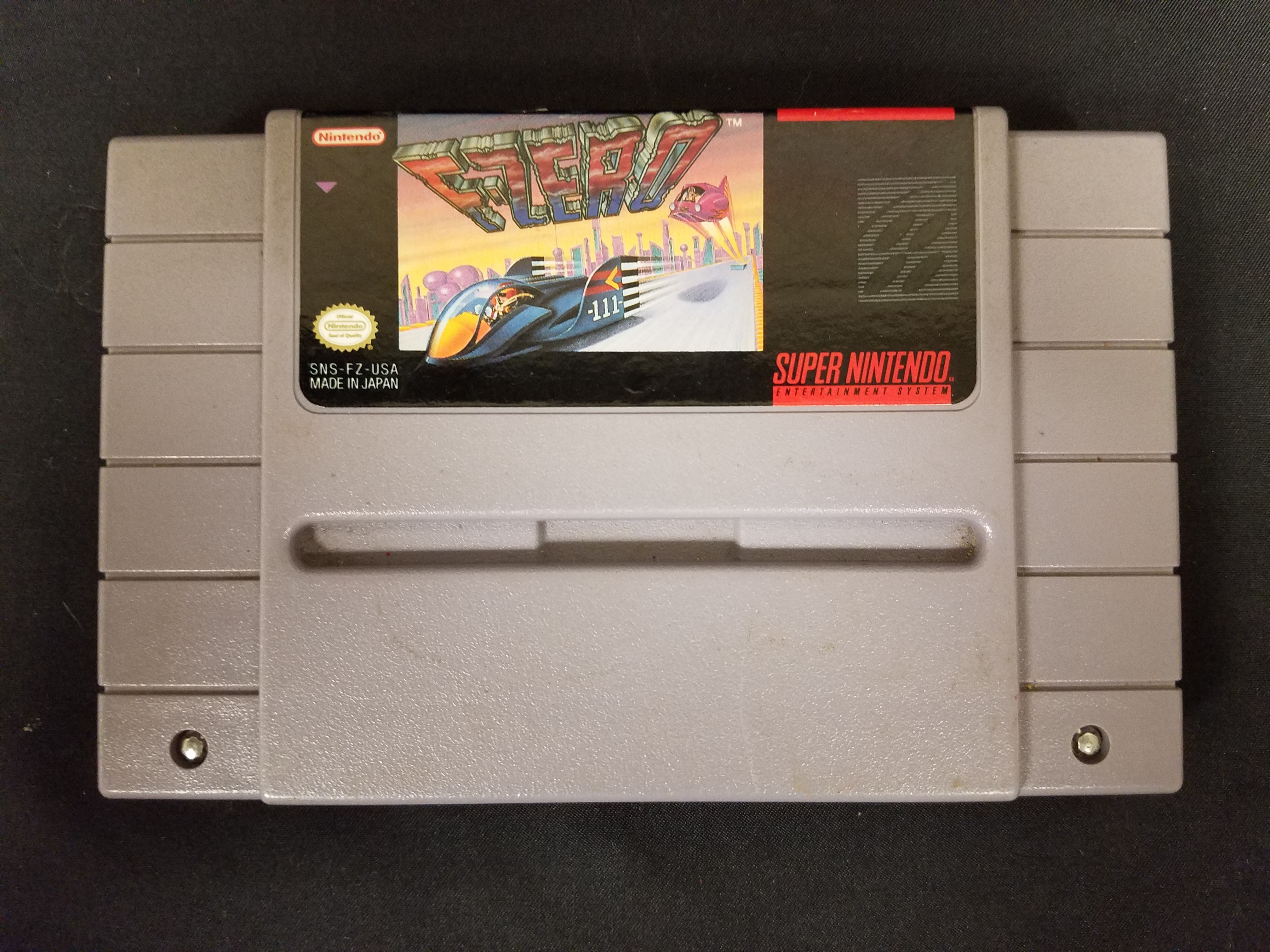 SUPER NINTENDO GAME: F-ZERO