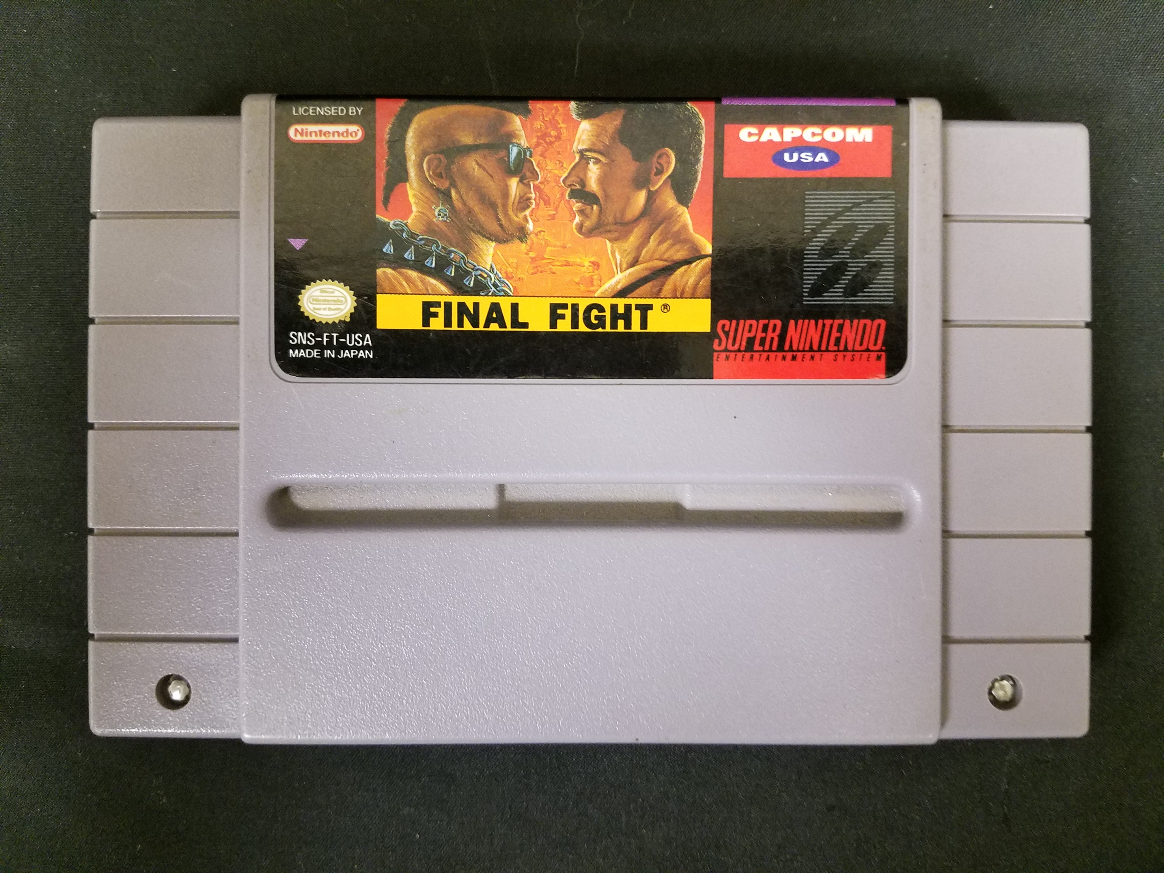 SUPER NINTENDO GAMES - FINAL FIGHT