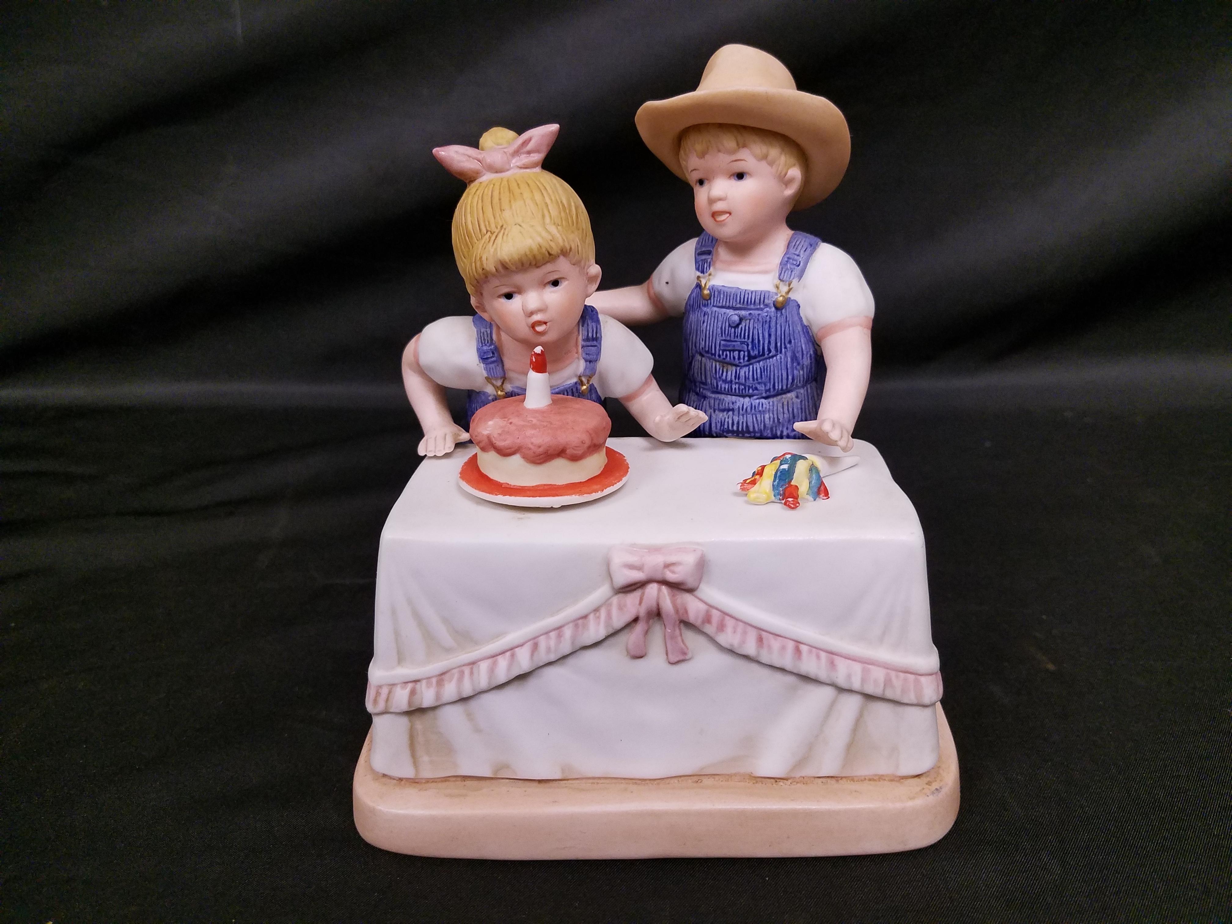 DENIM DAYS BY HOMCO 1985: BOY AND GIRL BIRTHDAY