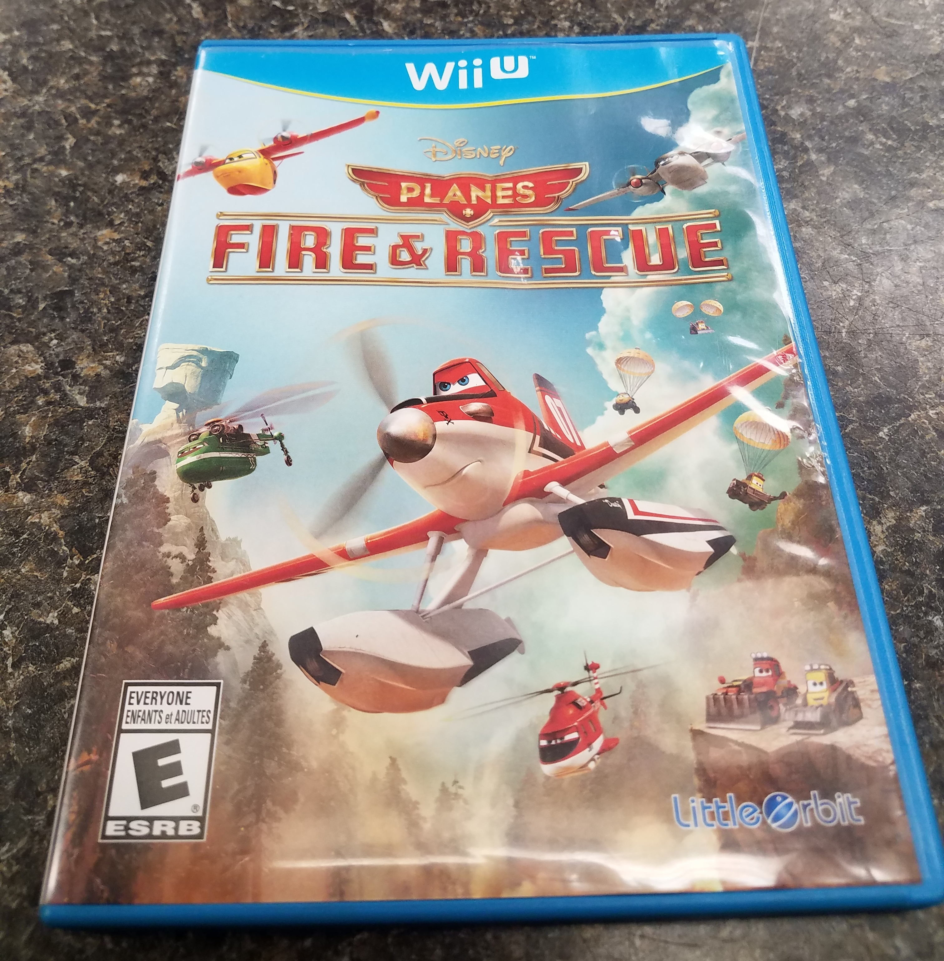 PLANES FIRE AND RESCUE - WII U GAME