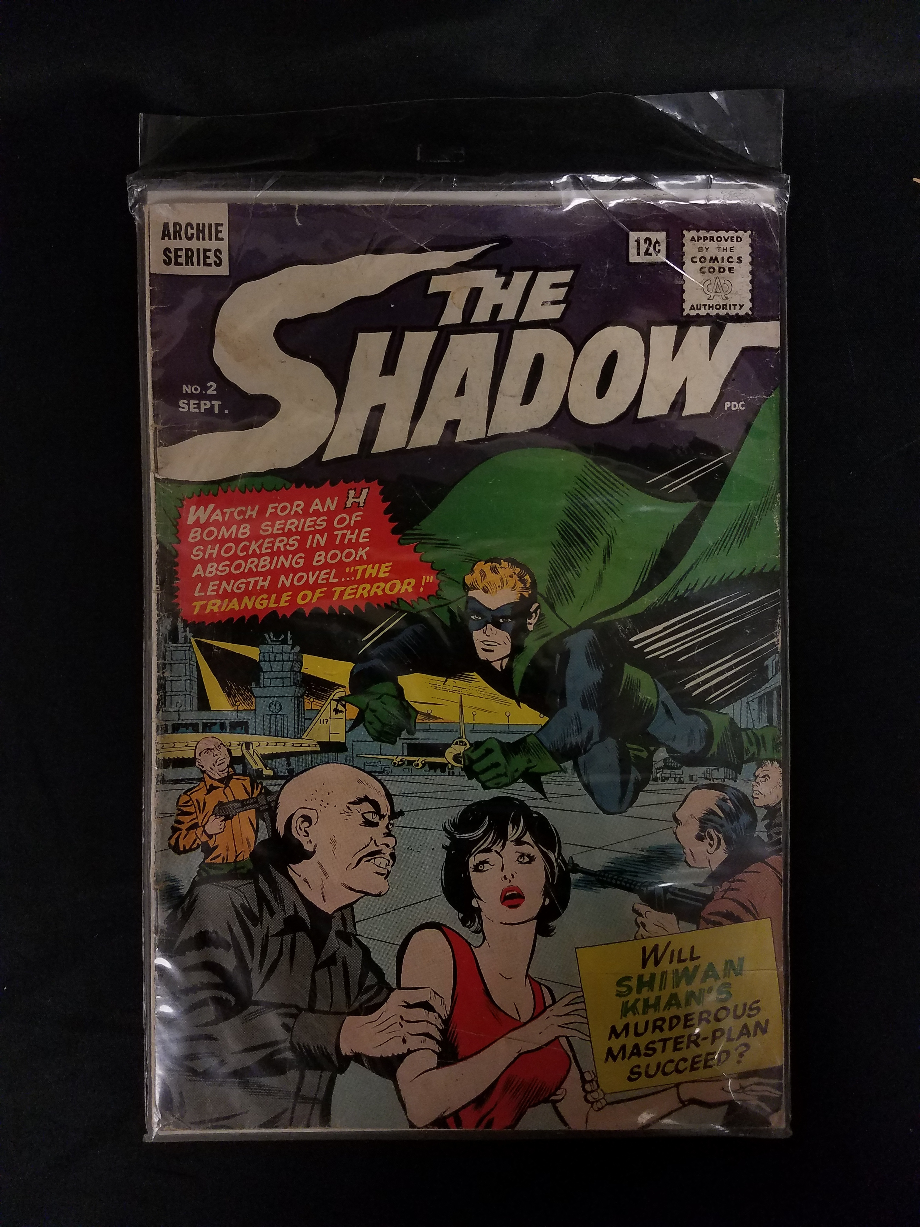 COLLECTIBLE COMIC BOOK: ARCHIE SERIES- THE SHADOW NO. 2 SEPT