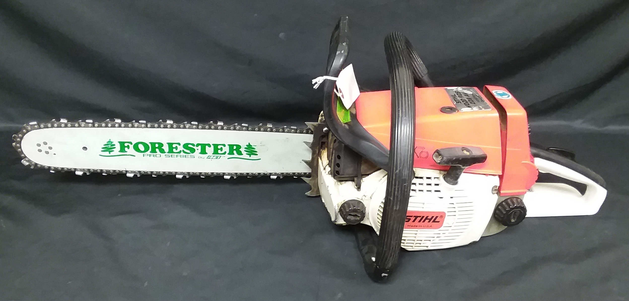 STIHL WOODBOSS 028 AV ELECTRIC QUICKSTOP CHAIN SAW