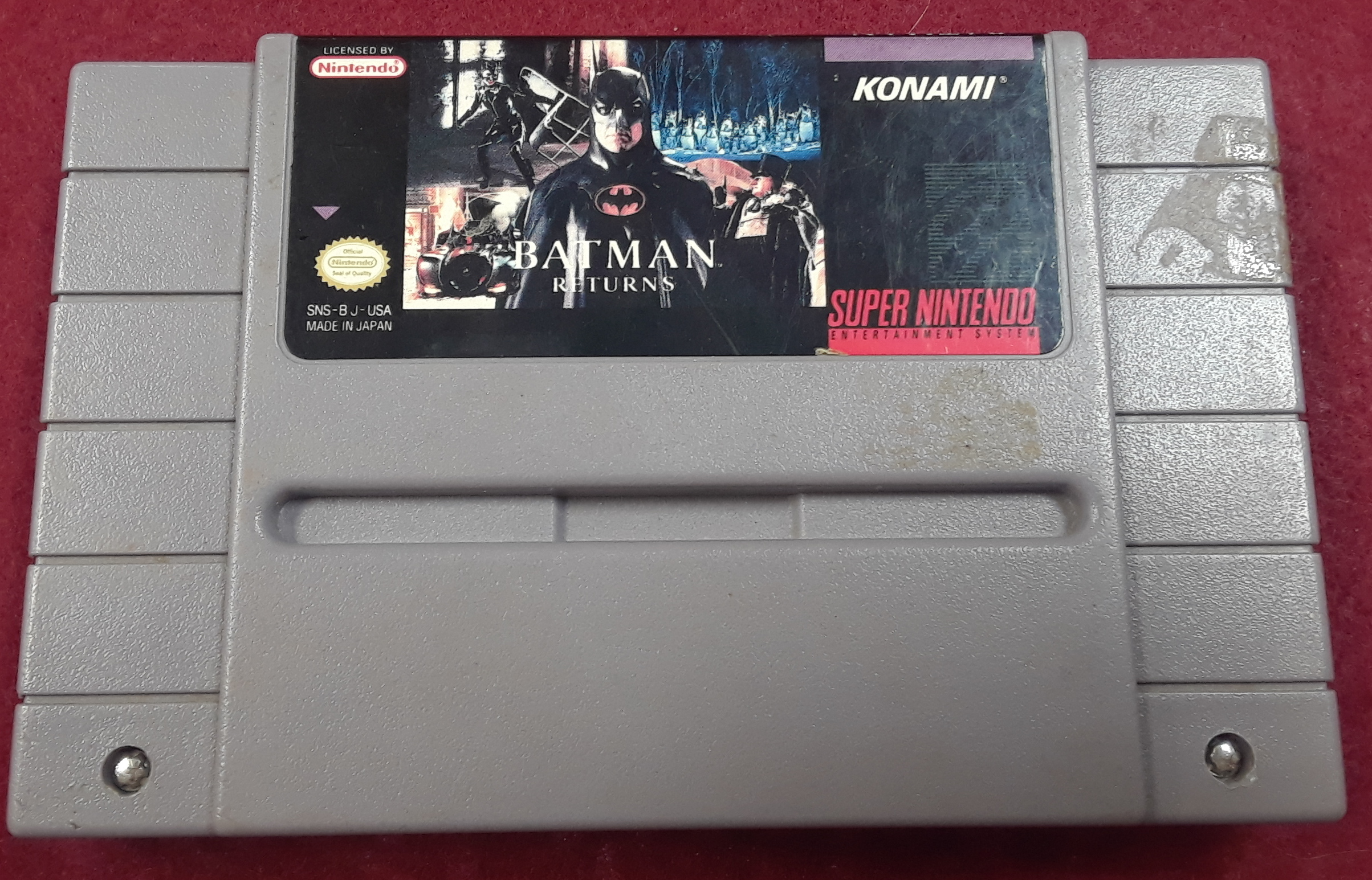 GAMES: SUPER NINTENDO: BATMAN RETURNS
