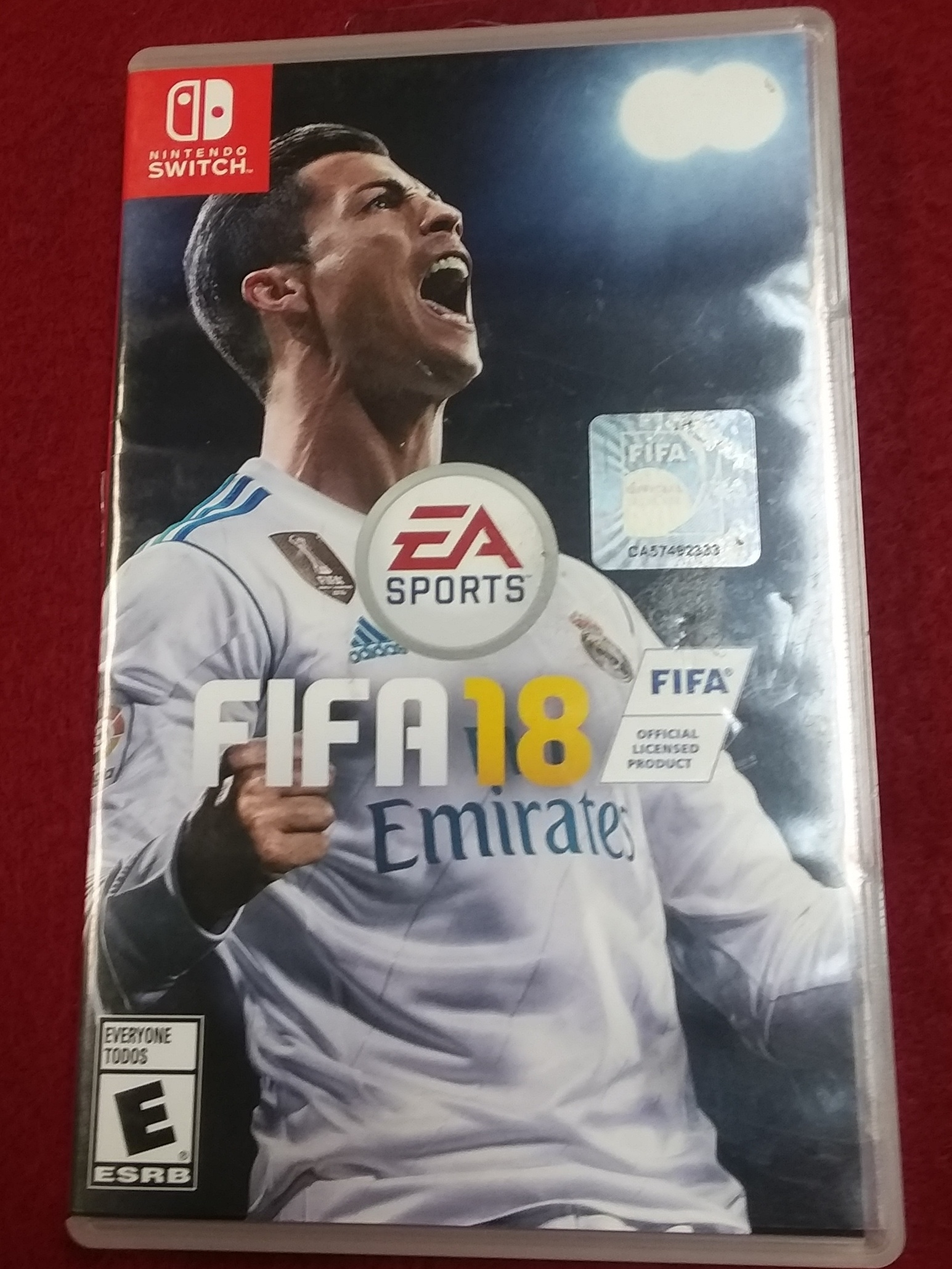 GAMES: NINTENDO SWITCH GAME - FIFA 18