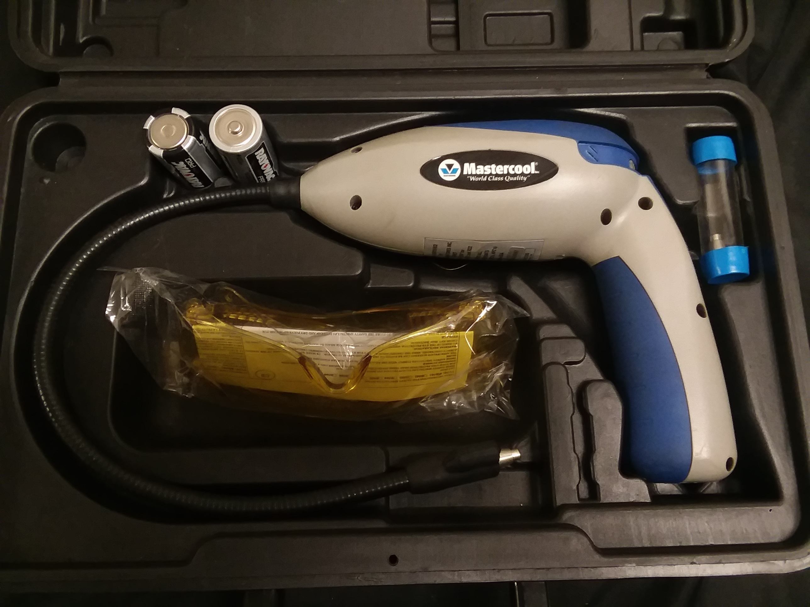 MASTERCOOL - LEAK DETECTOR WITH W/UV BLUE LIGHT - TOOLS