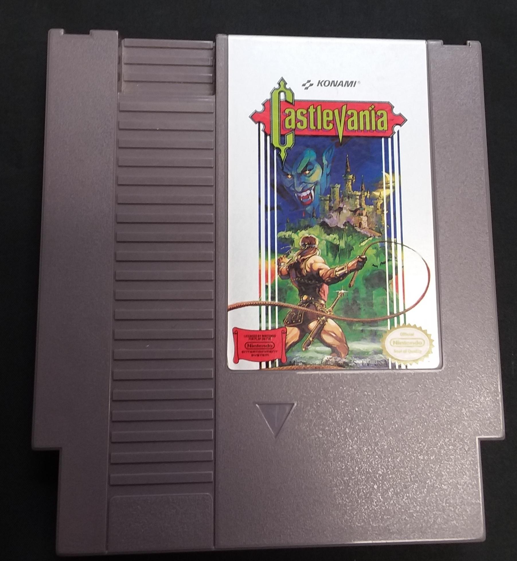 GAMES: CASTLE VANIA - NES SYSTEM