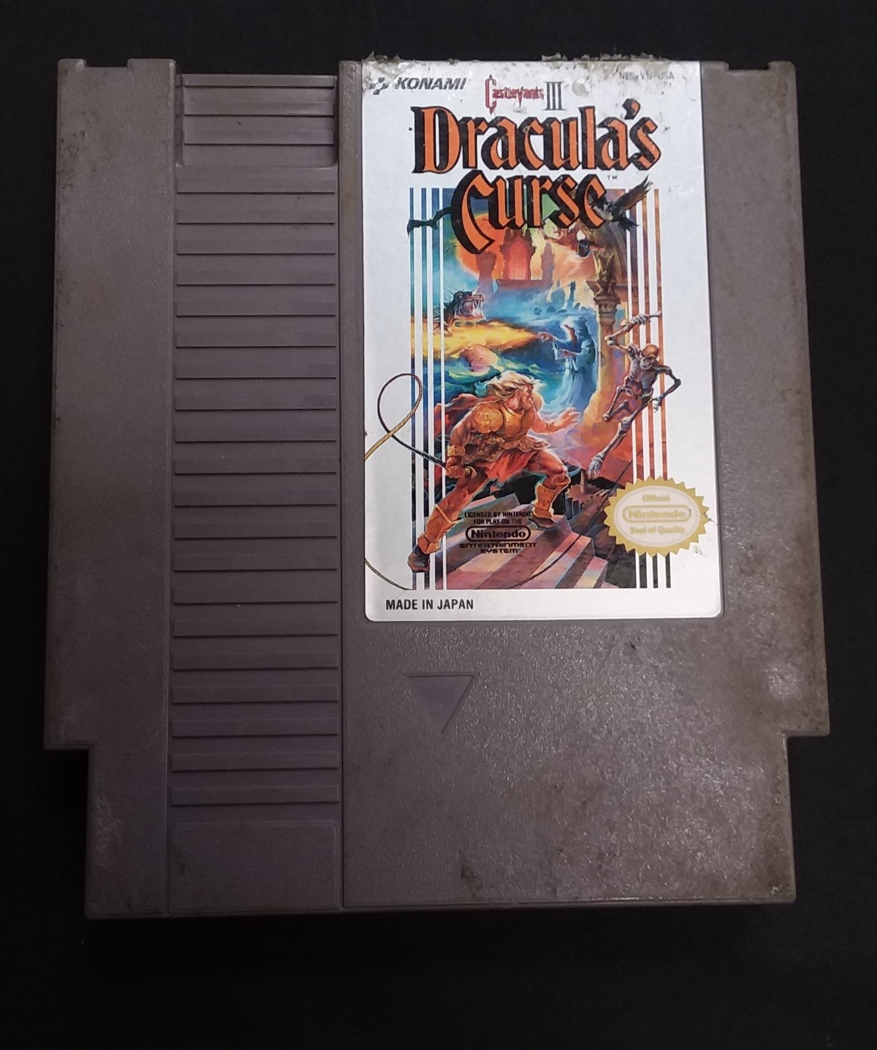 GAMES: CONTRA - NES SYSTEM