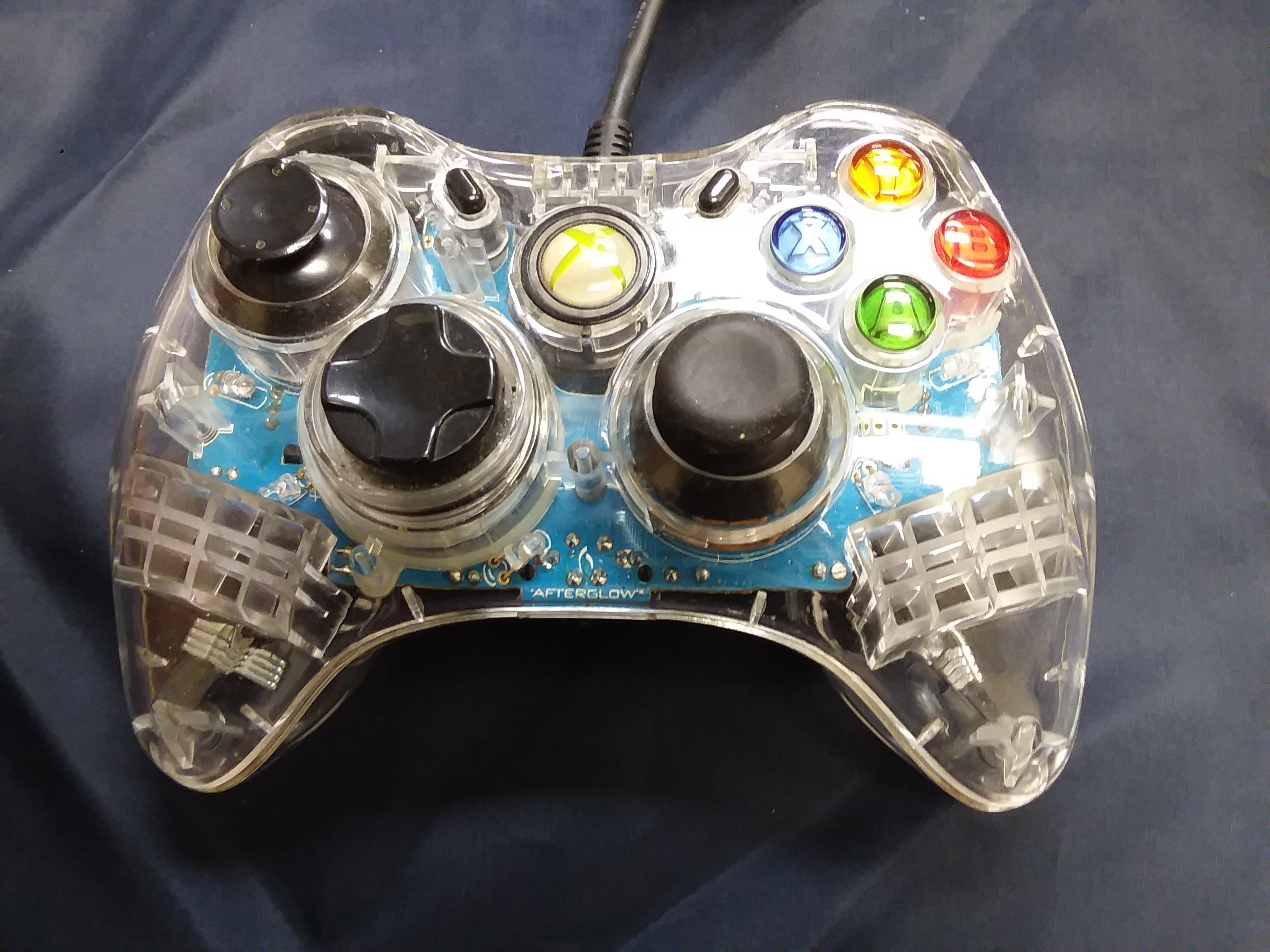 XBOX 360 CONTROLLER- AFTERGLOW
