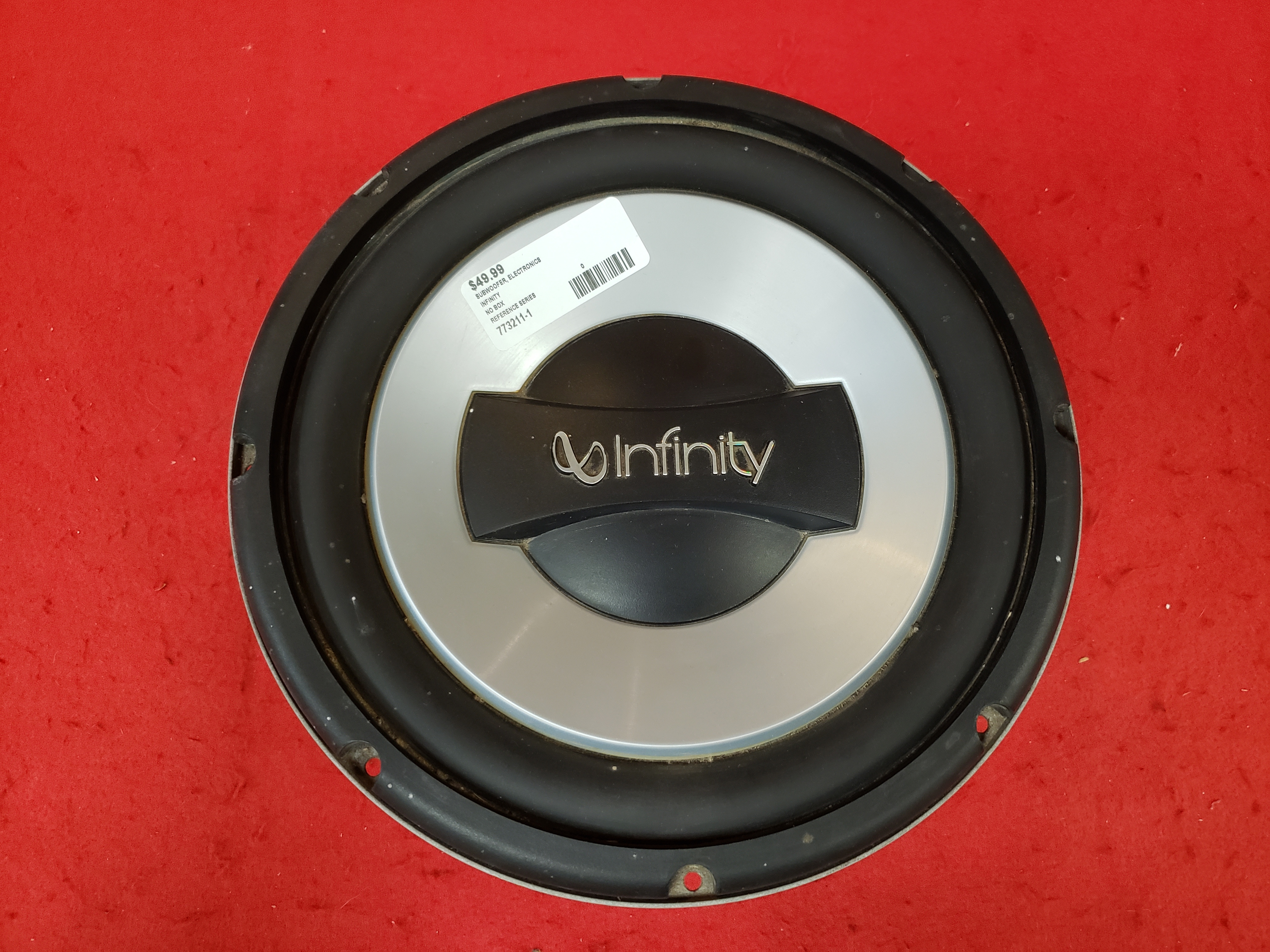 INFINITY - REFERENCE SERIES - SUBWOOFER ELECTRONICS