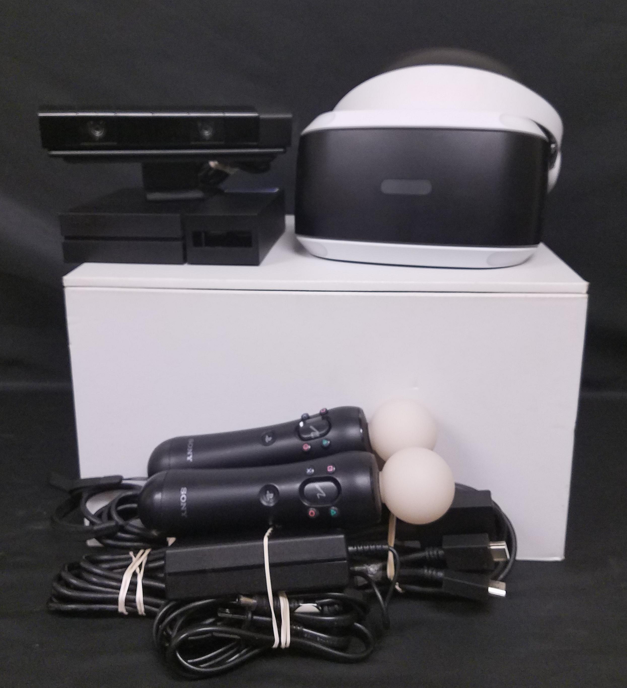 SONY VIRTUAL REALITY HEADSET - MODEL:  CUH-ZVR1