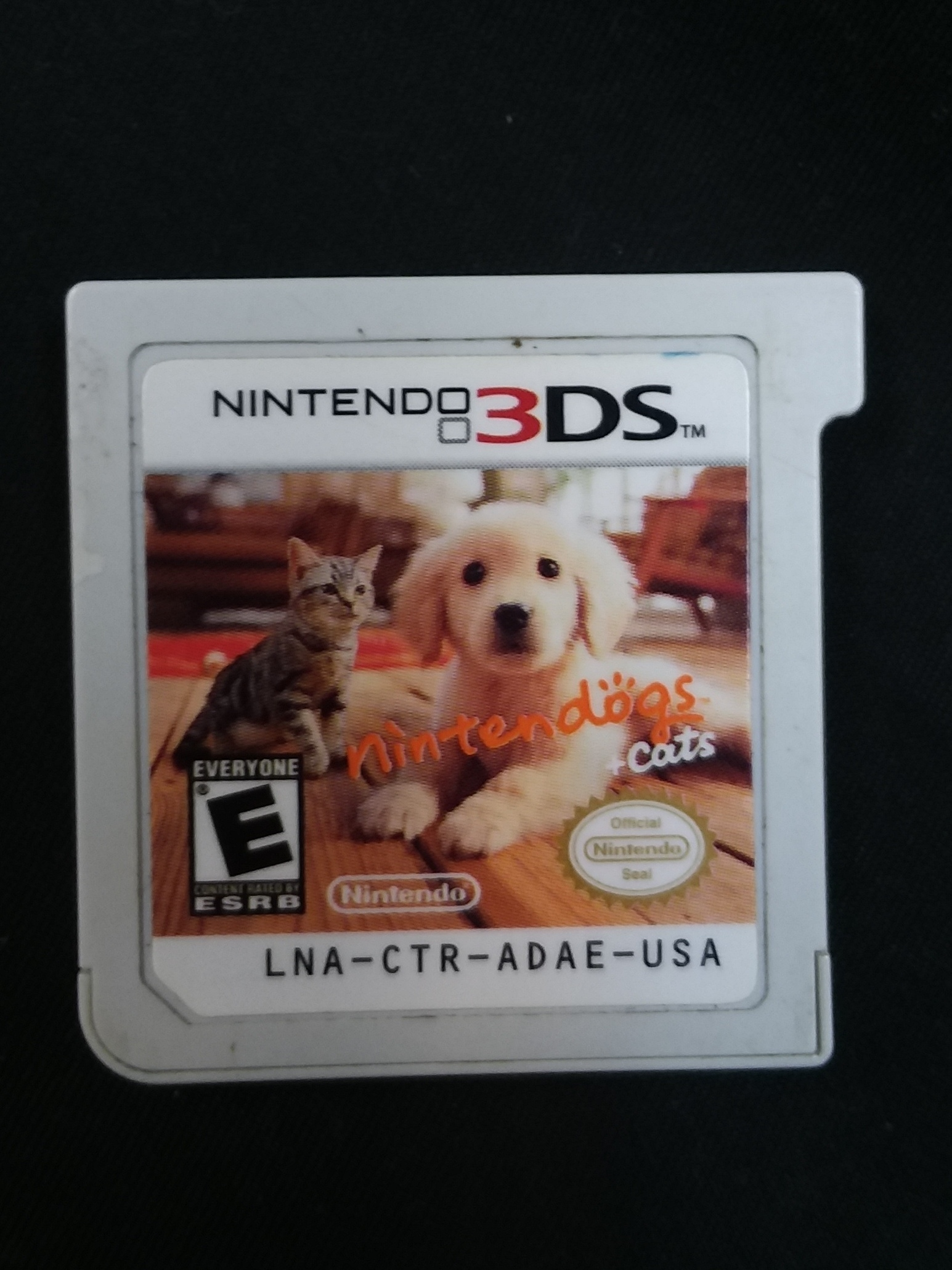 GAMES: NINTENDO 3DS GAME - NINTENDO CATS & LABS