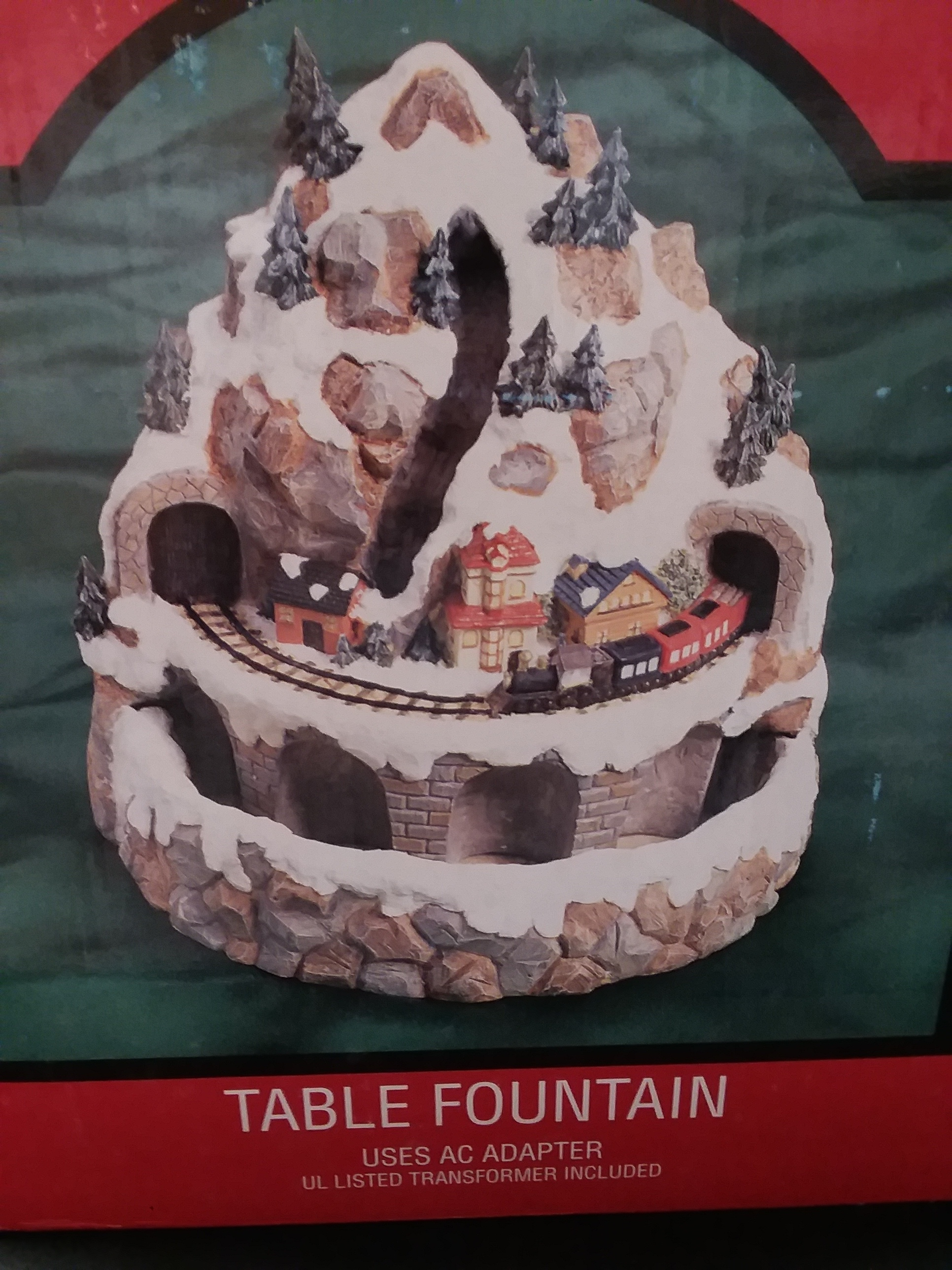 COLLECTIBLES: HOME TOWNE EXPRESS - TABLE FOUNTAIN