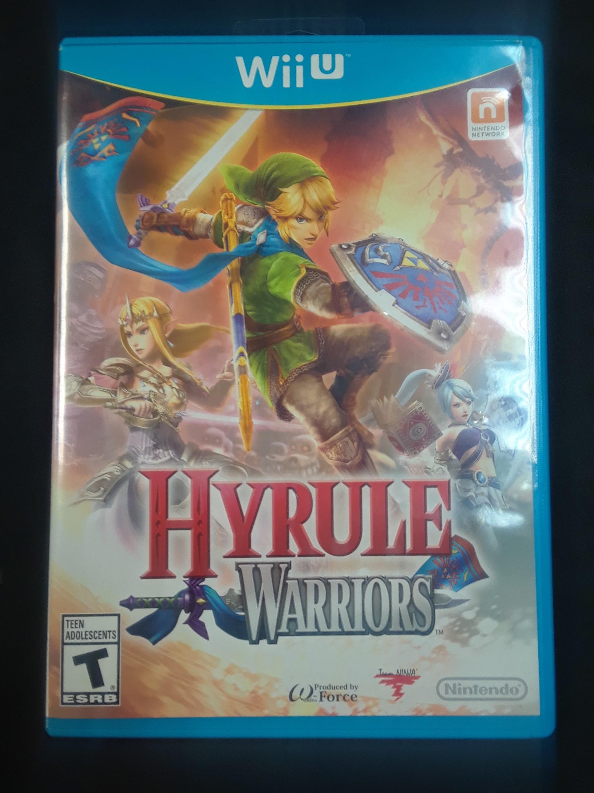 WII U GAME: HYRULE WARRIORS