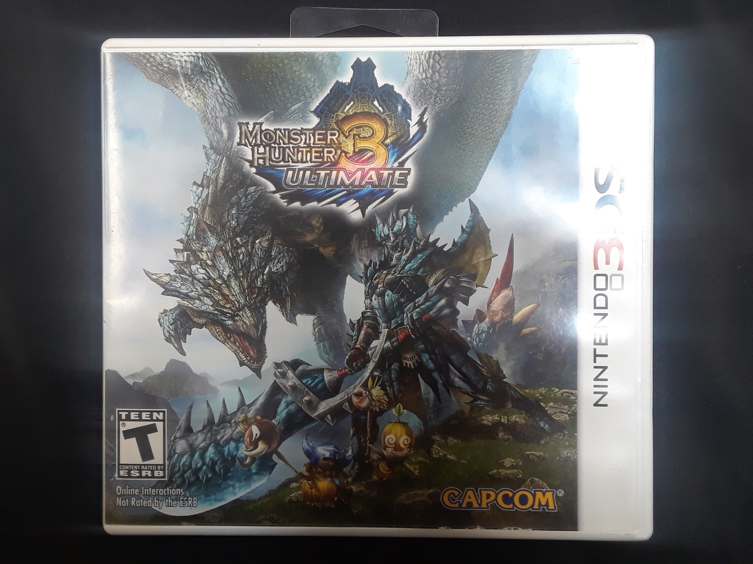 NINTENDO 3DS GAME: MONSTER HUNTERS ULTIMATE 3