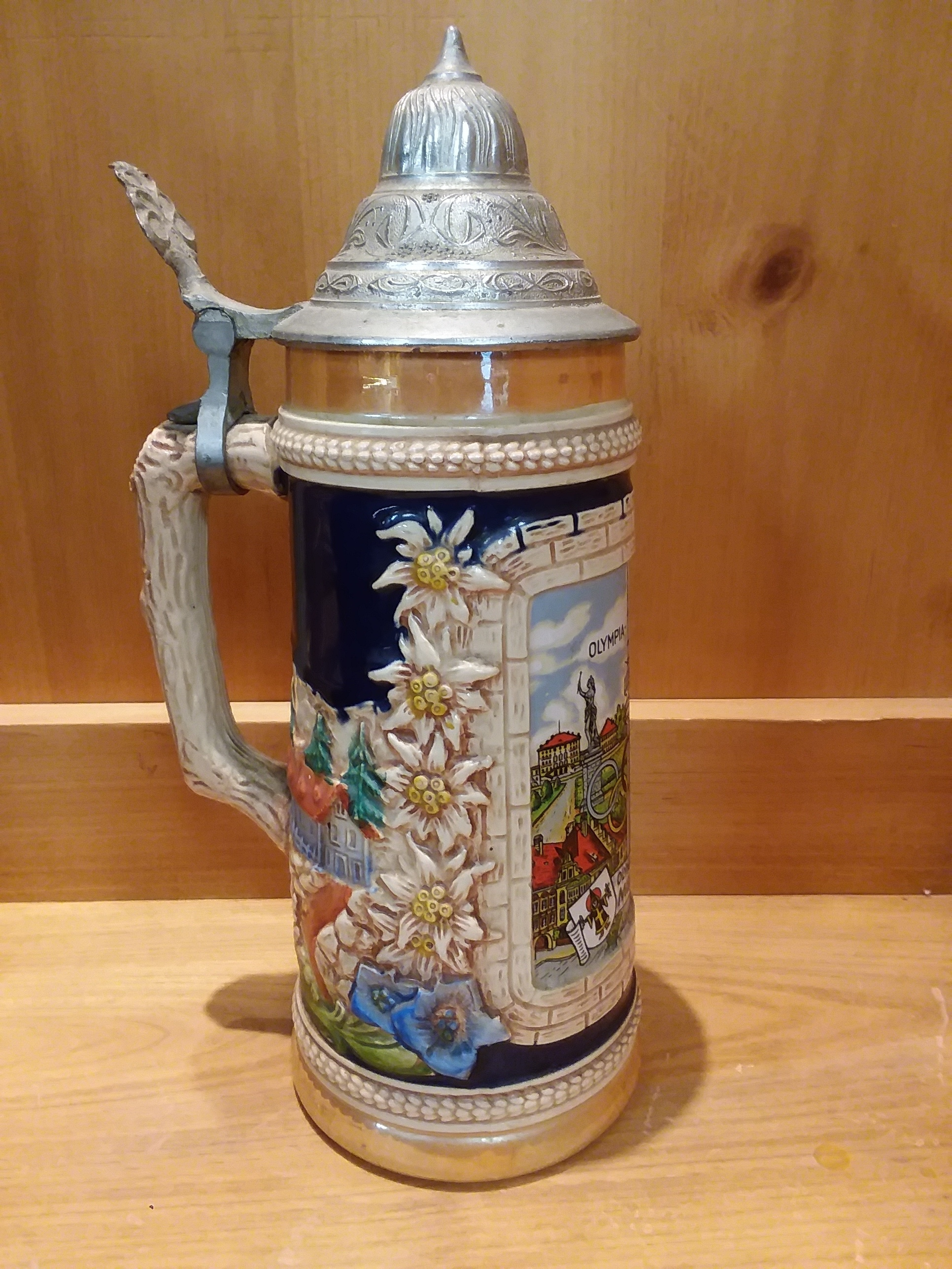 COLLECTIBLES: 1972 GERMANY OLYMPIA STEIN