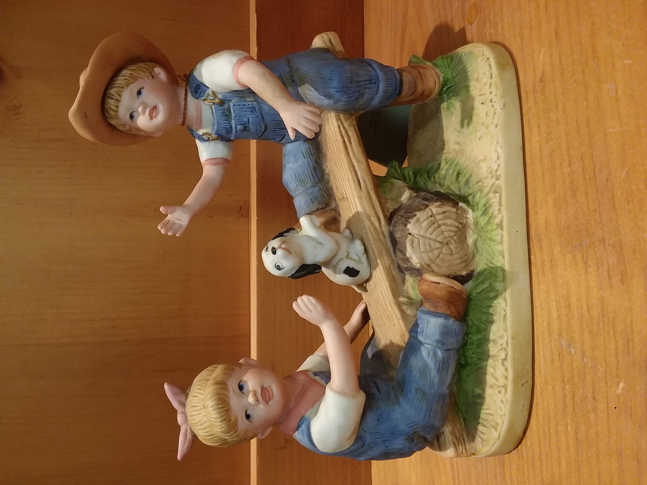 COLLECTIBLES: DENIM DAYS BY HOMCO 1985 - PLAYTIME