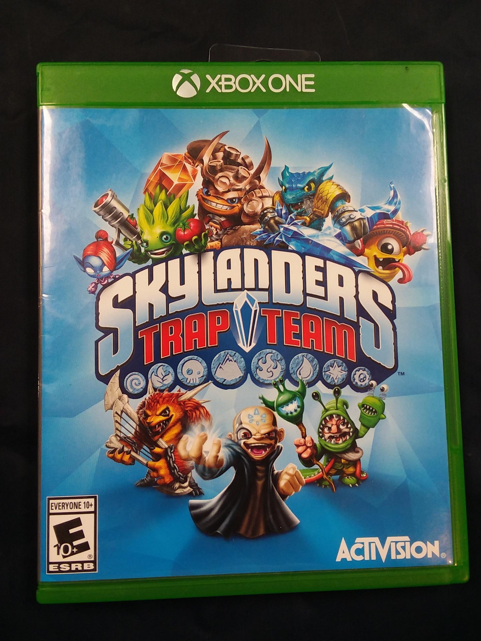 GAMES: XBOX ONE - SKYLANDERS TRAP TEAM