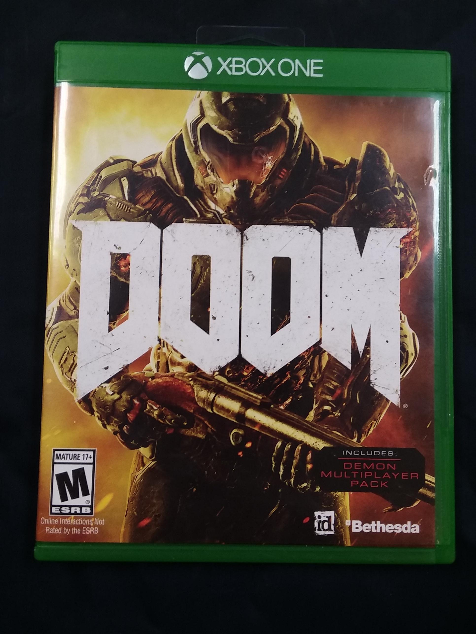 GAMES: XBOX ONE - DOOM