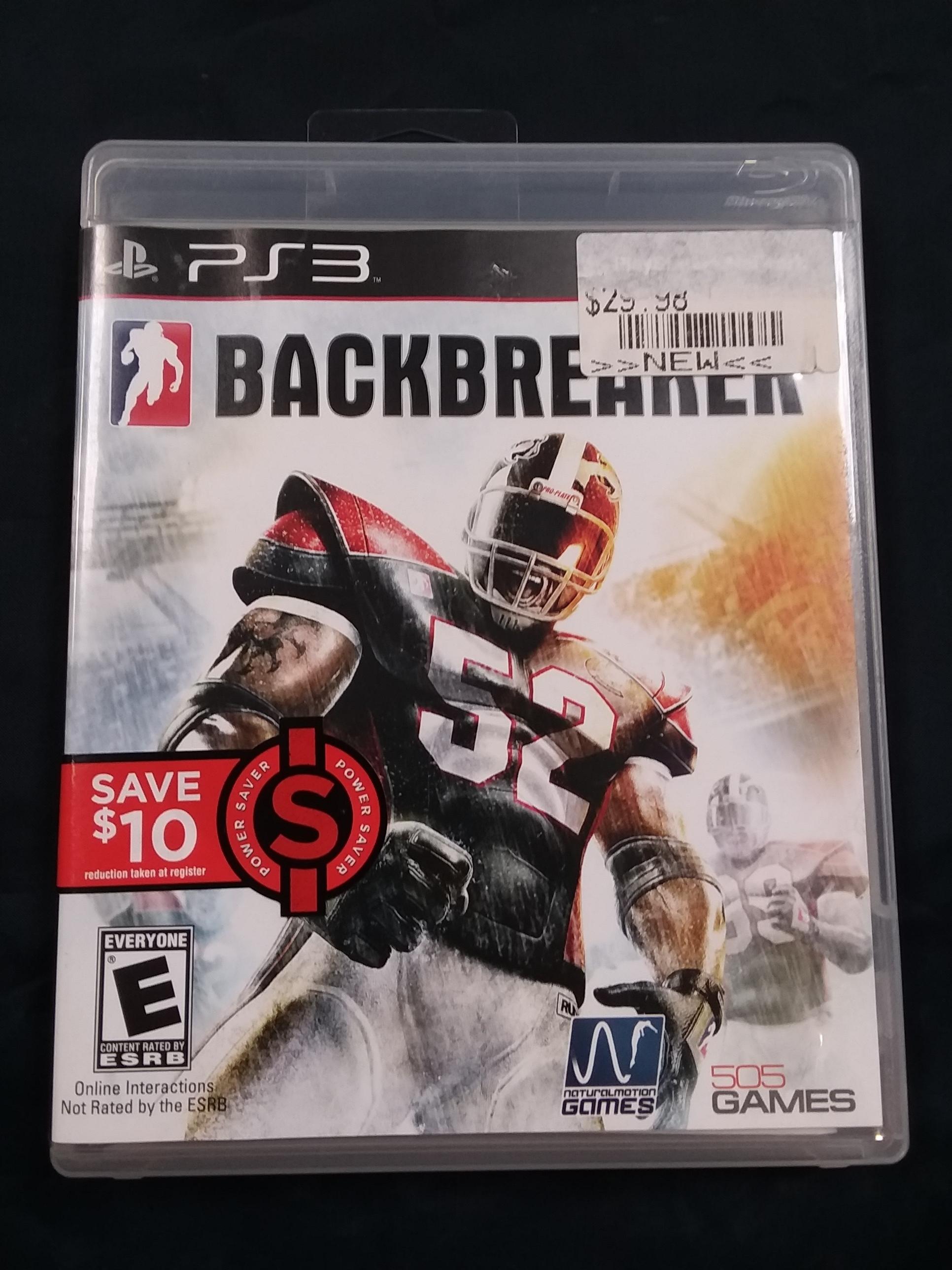 GAMES: PS3 GAME - BACKBREAKER