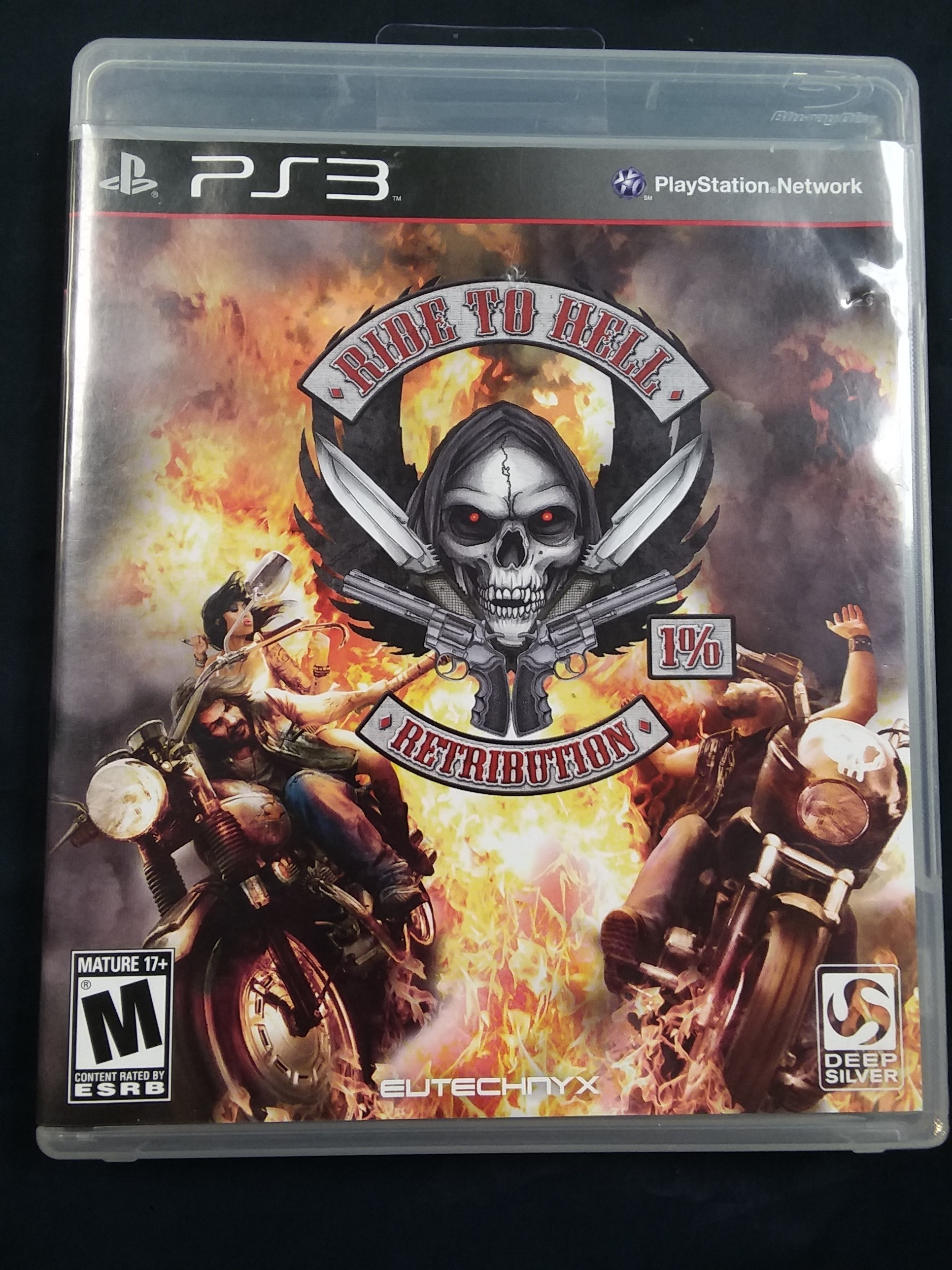 GAMES: PS3 GAME - RIDE TO HELL RETRIBUTION