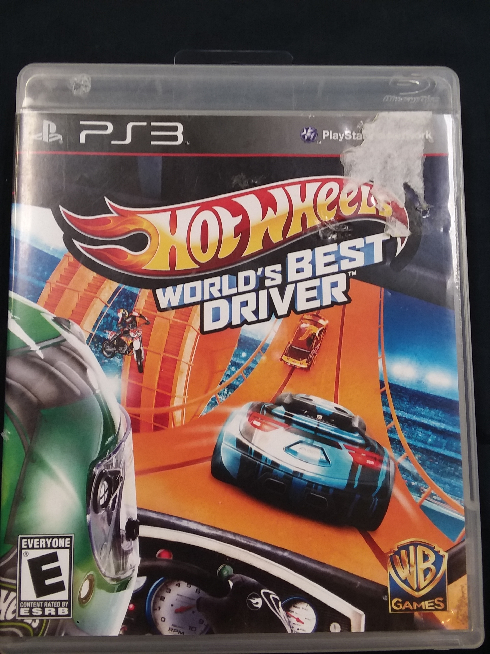 GAMES: PS3 GAME - HOT WHEELS WORLDS BEST DRIVER