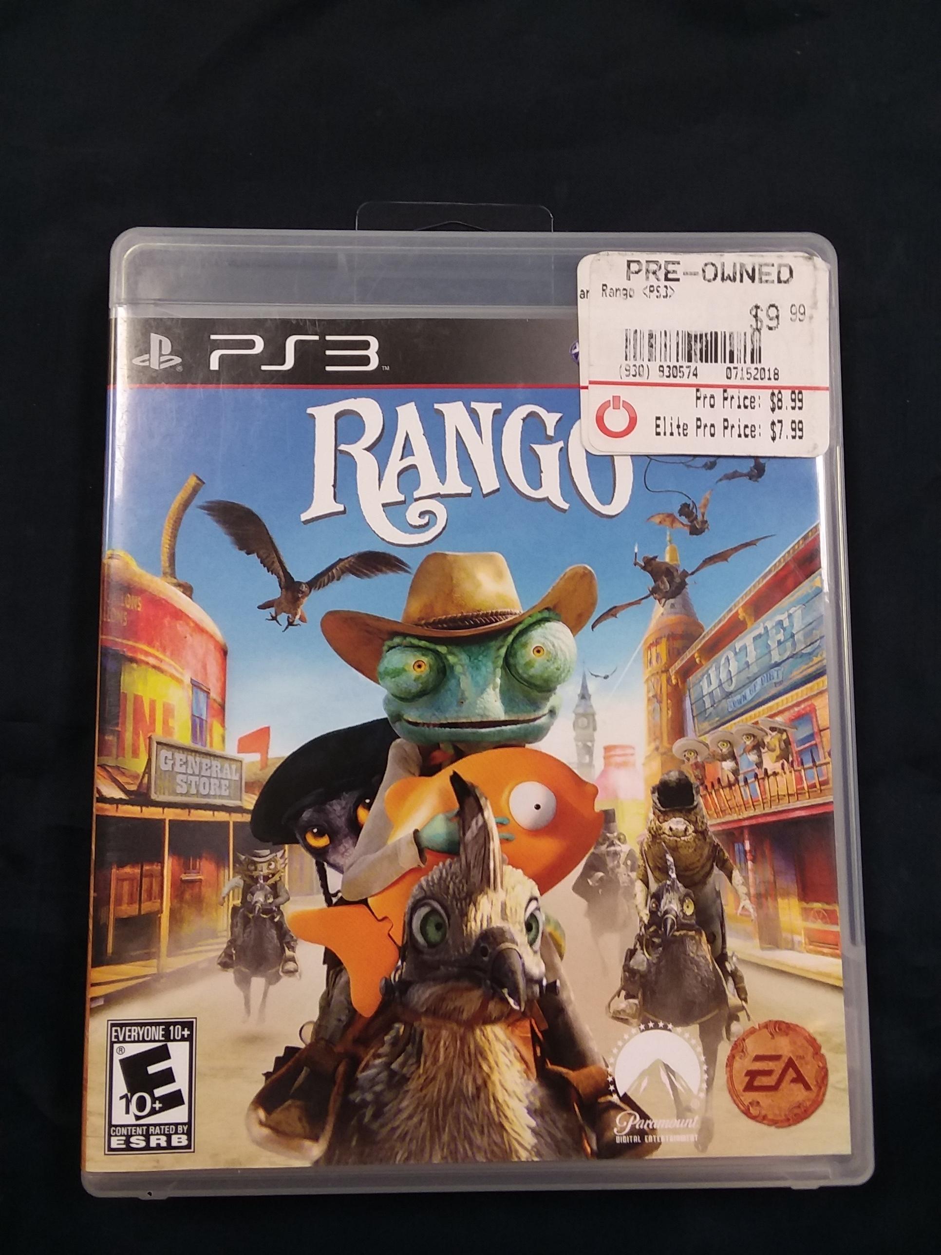 GAMES: PS3 GAME - RANGO