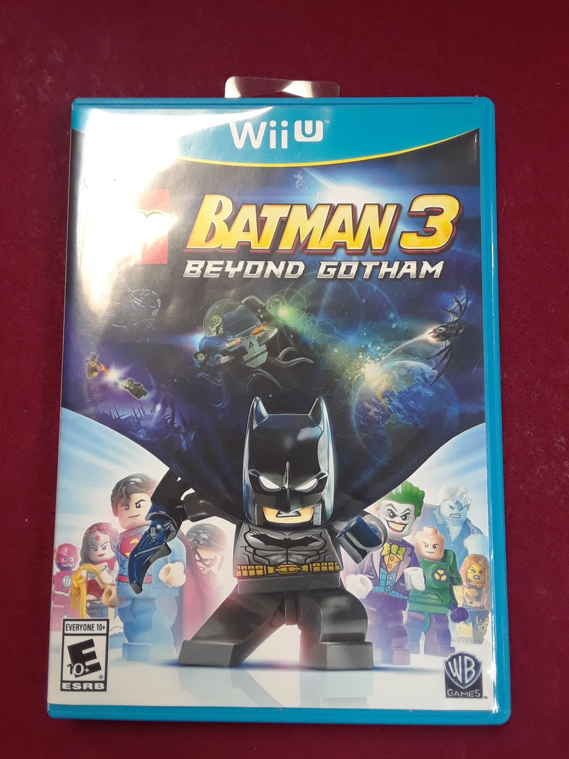 WII U GAME:  LEGO BATMAN 3: BEYOND GOTHAM