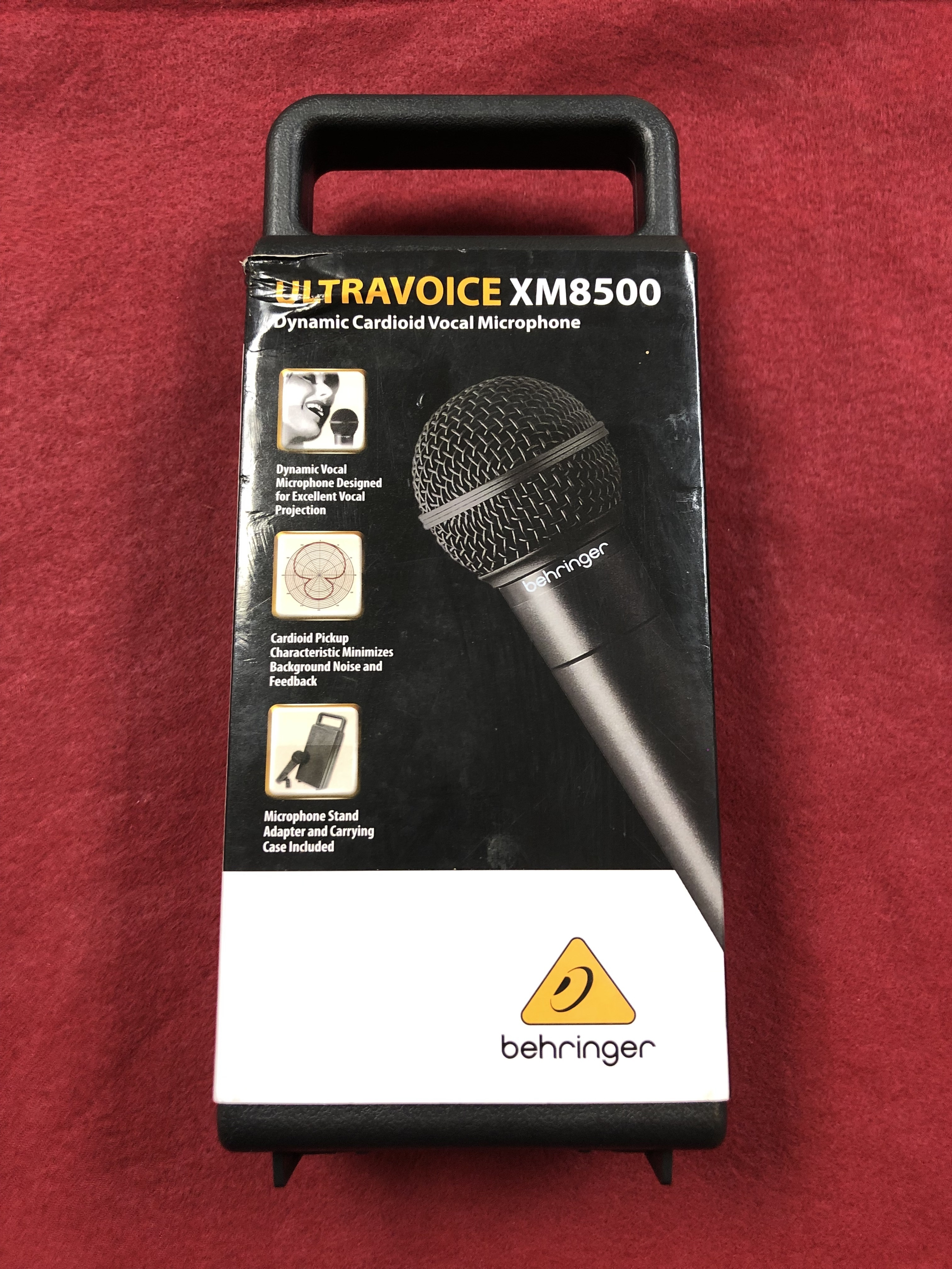ELECTRONICS: MICROPHONE - BEHRINGER - ULTRAVOICE XM8500