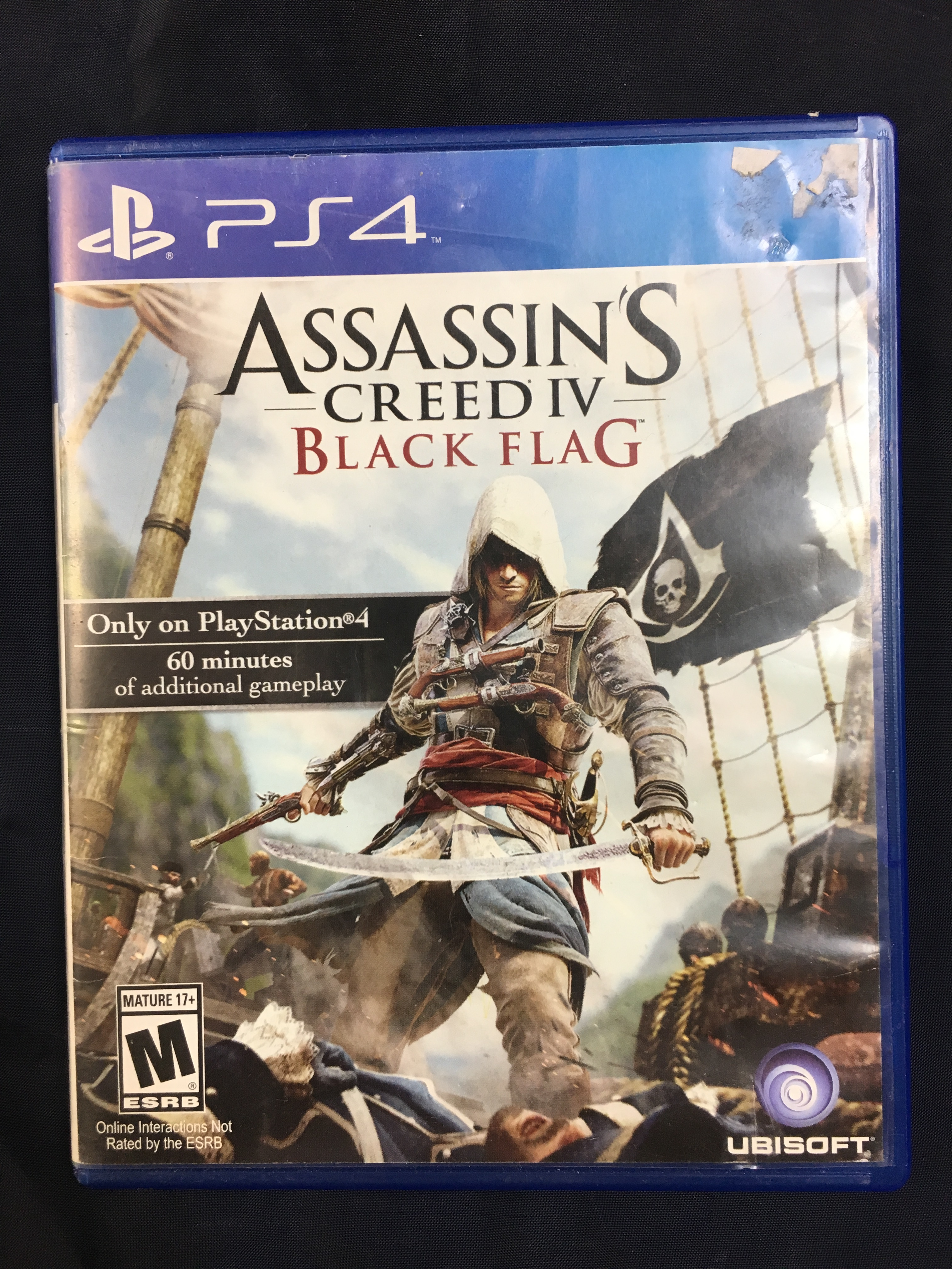 PS4 GAME: ASSASSIN'S CREED IV: BLACK FLAG