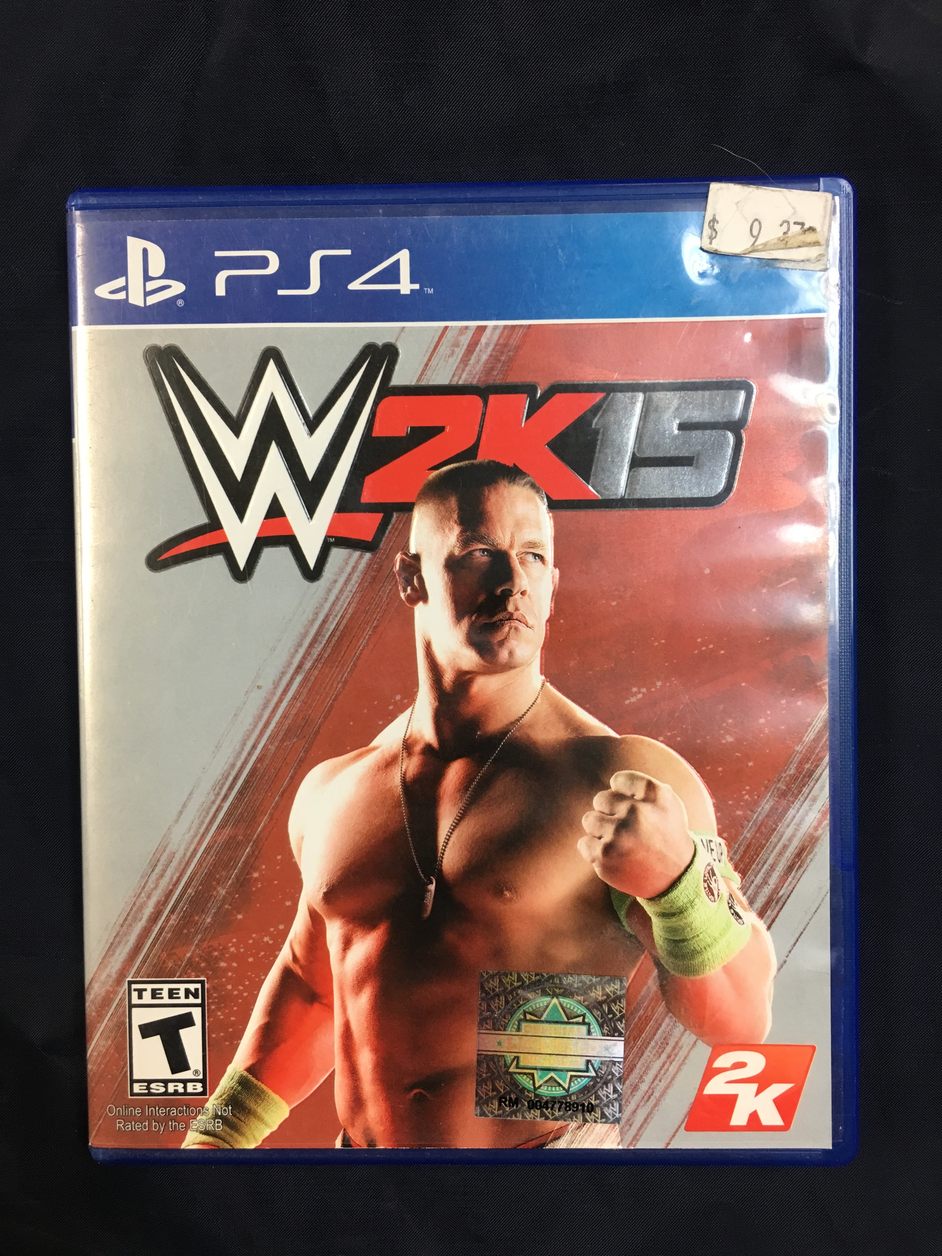 PS4 GAME: WWE 2K15