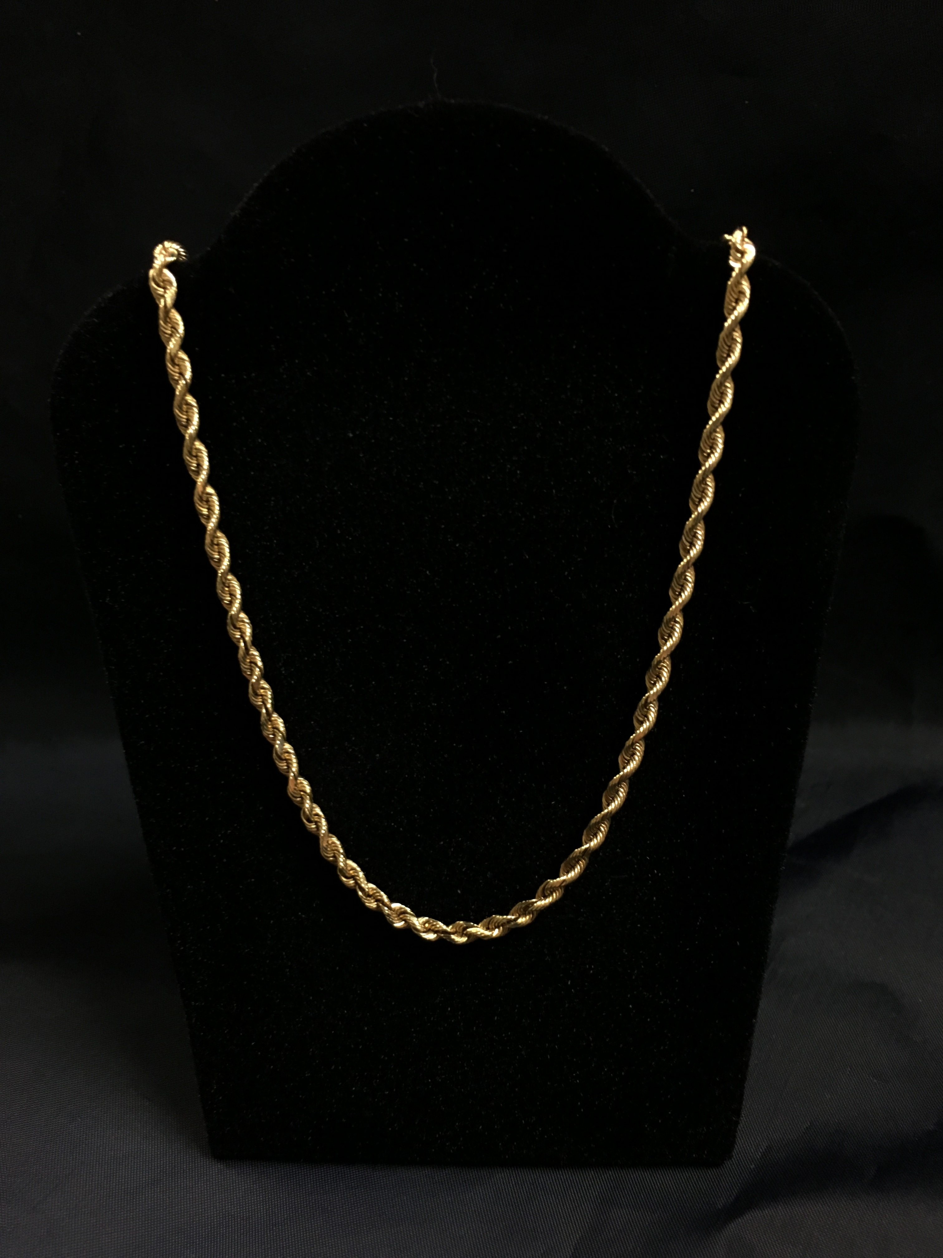 14KT YELLOW GOLD 20