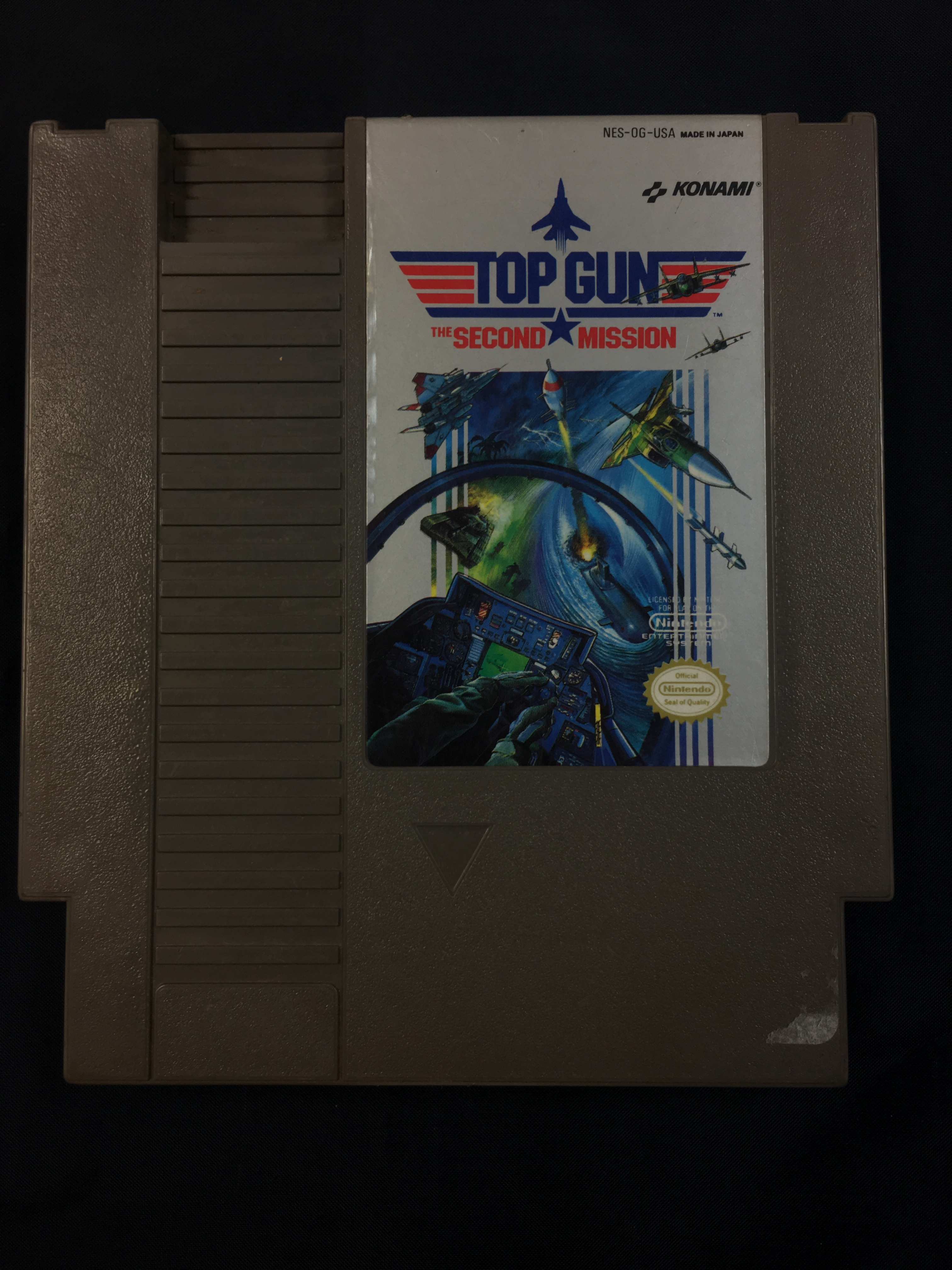 NINTENDO GAME: TOP GUN THE SECOND MISSION