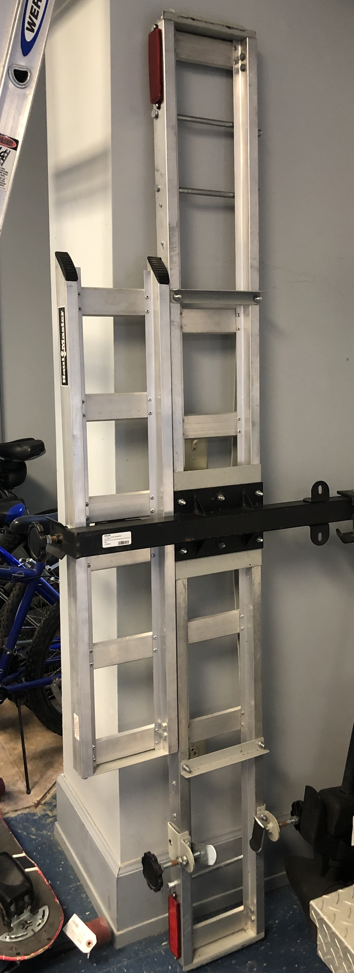 VEHICLES: MOTORCYCLE HAUL RACK FOR REESE HITCH 400 POUND MAX WEIGHT