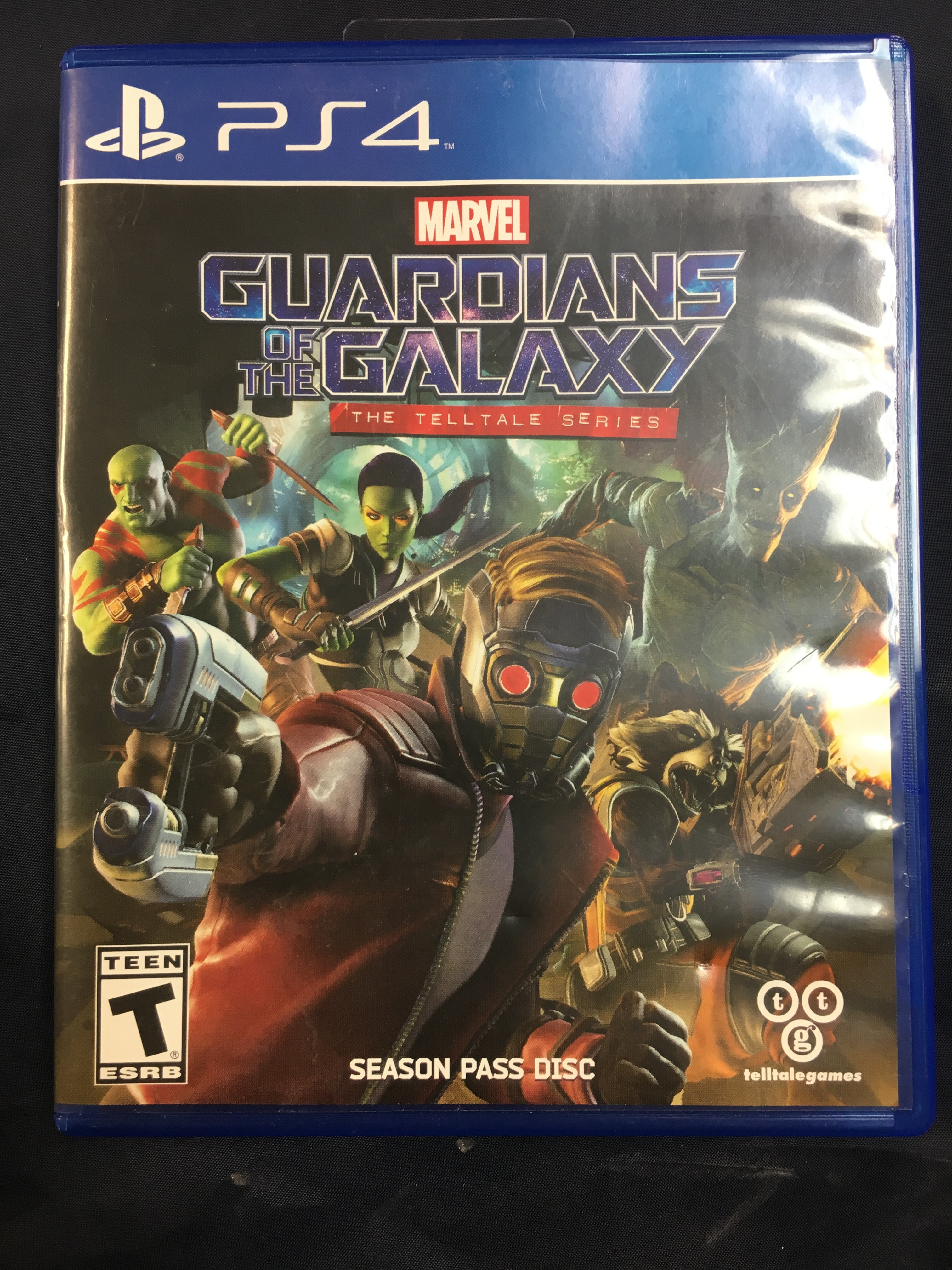 PS4 GAME:  GUARDIANS OF THE GALAXY